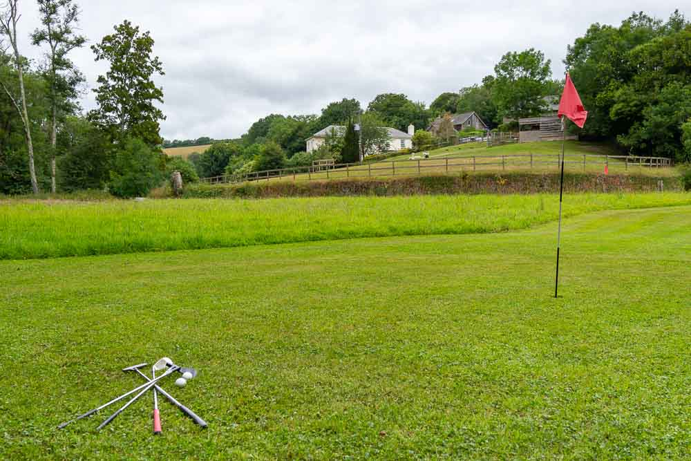 Flear Farm Cottage's Pitch and Putt Course sits just below the Alpaca Paddock and is great fun for all the family.jpg
