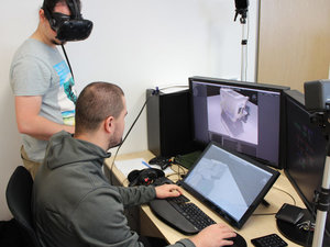 Quality control focused virtual training -