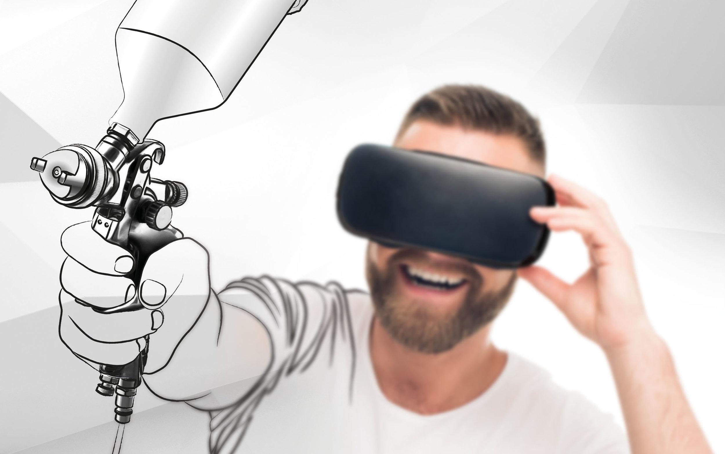 VirtualPainting Gun -