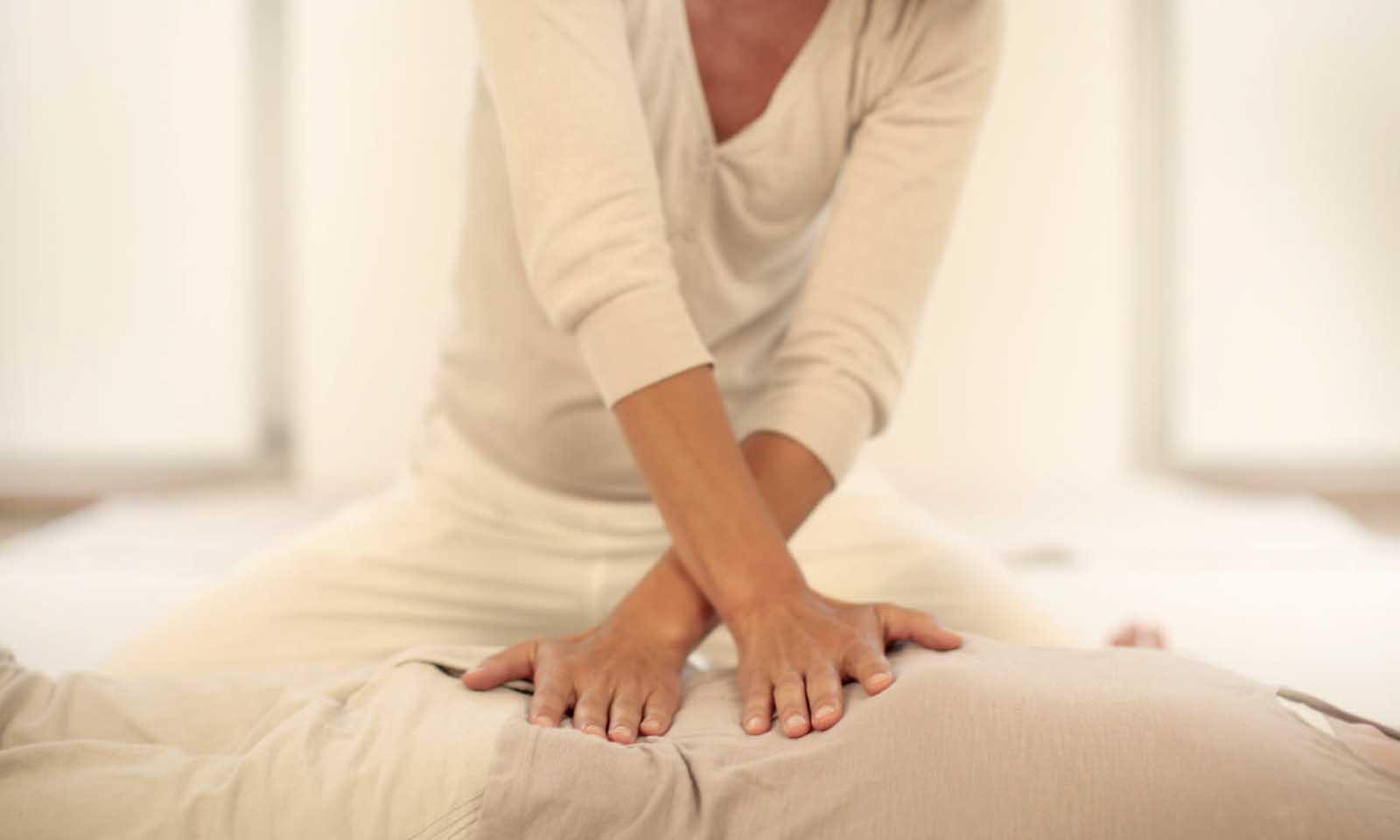 Le massage shiatsu - Originaire de chine, le massage shiatsu offre un toucher par pression, plutôt ferme et profond. C'est un massage à énergie masculine, il apporte de la structure et du cadre intérieur.Particulièrement indiqué pour retrouvé de l'énergie, fluidifier, dynamiser, il permet aussi de libérer la respiration et de relancer la dynamique du corps.