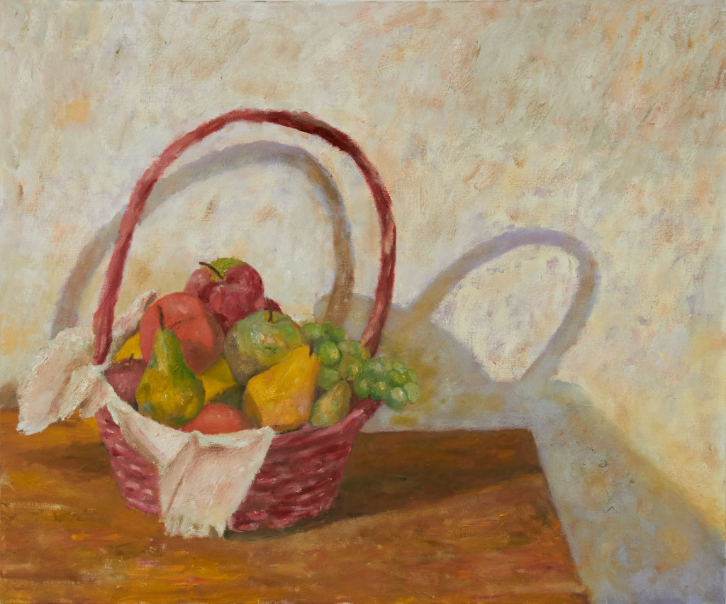 Basket and Fruit