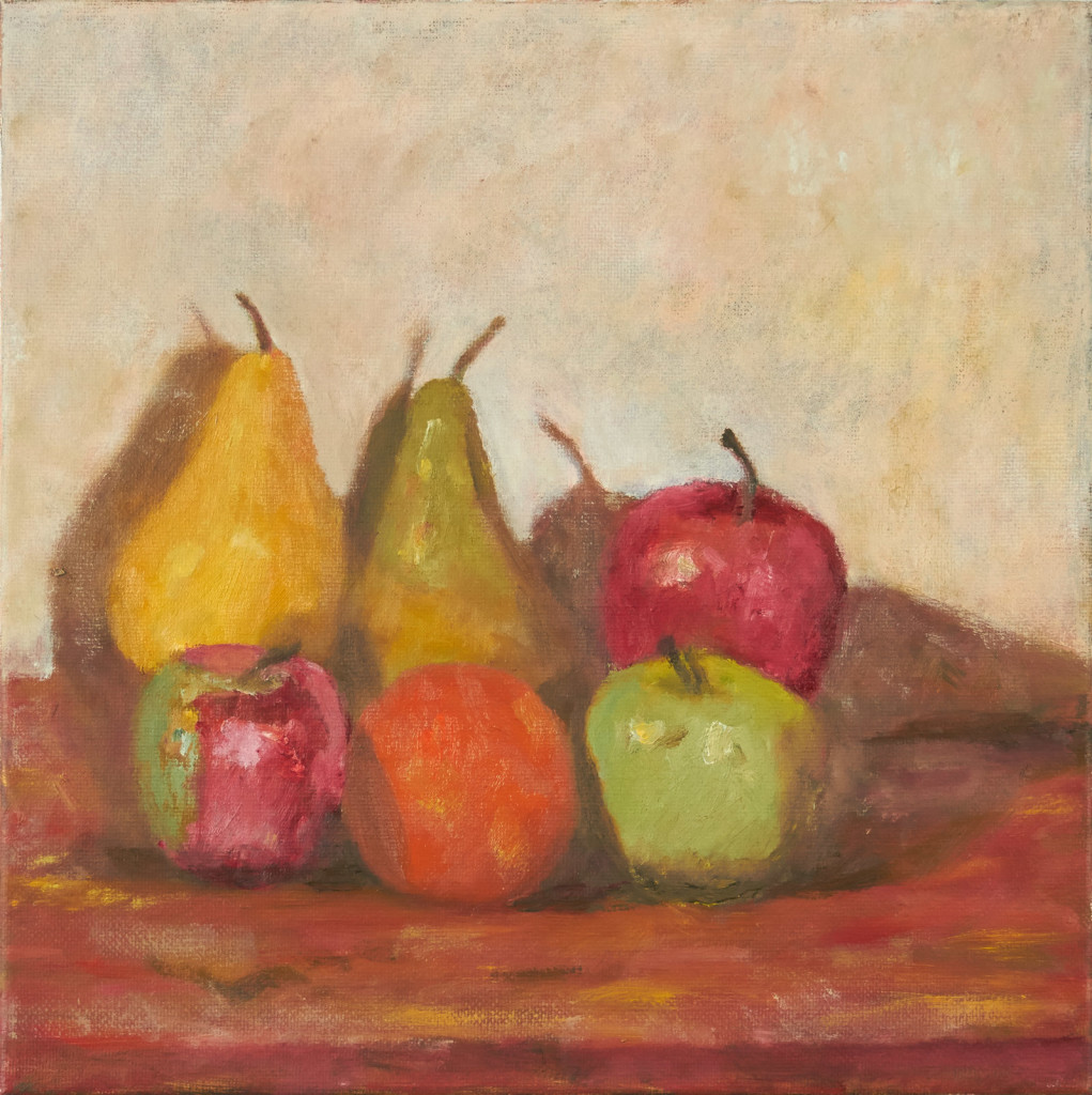 Fruit- Pears, Apples, Oranges