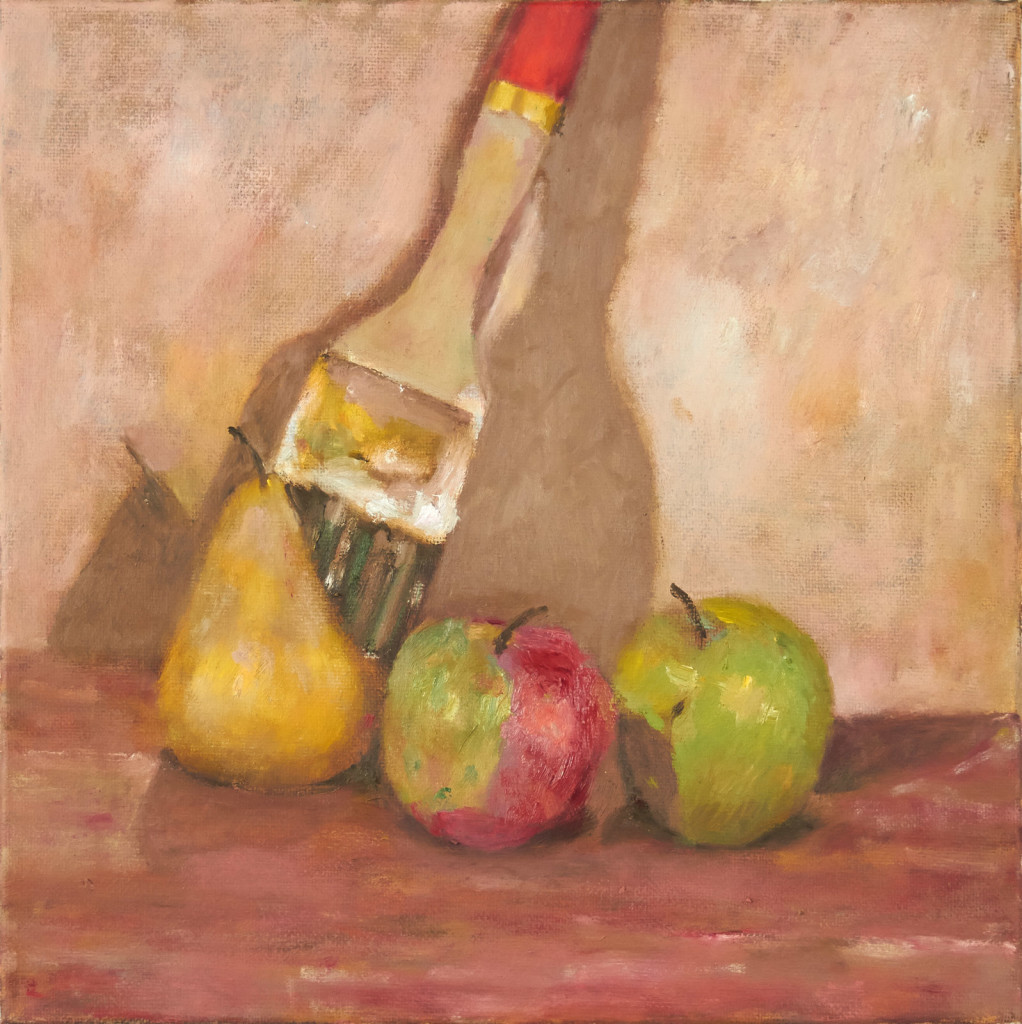 Fruit with Brush