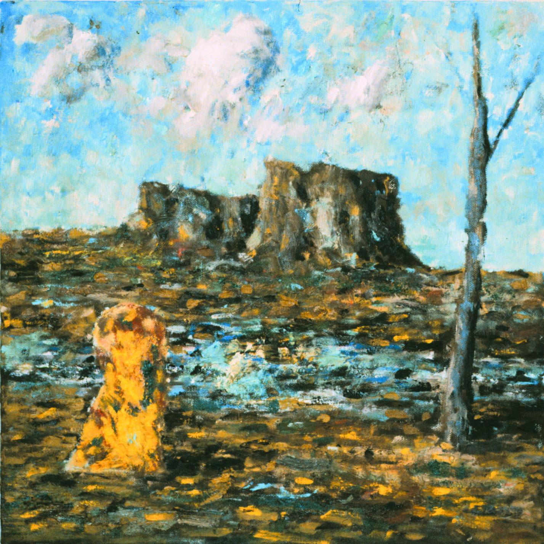 Figure in Desert