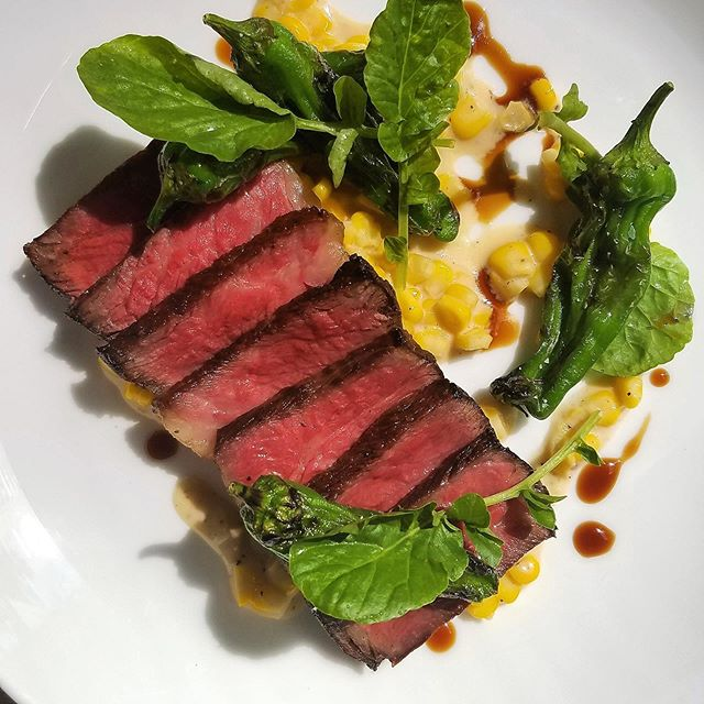 Continue Your Summer Fun With Our Weekend Special!  Prix Fixe Menu  Starter Market Greens Salad Gala Apple, Toasted Walnuts, Creamy Blue Cheese Dressing  Main Slow Cooked Smoked Beef Short Rib Brentwood Corn Cacio e Pepe, Grilled Shishitos, Red Wine Jus $47  #prospectsf #bestrestaurantsinsanfrancisco #sanfranciscorestaurants #bestrestaurantssf #toprestaurantsinsanfrancisco #restaurantsembarcadero