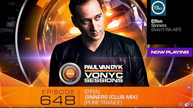 So this just happened earlier. My first ever play on #VONYC Sessions. Thank you so much @paulvandyk for your support! @ilikeitpure 😊😊😊 #Effen #MusicProducer #DJ #Effen2019 #Singapore #Malaysia #RESIDNT #IamLiveXperience #MODJs #Clublife #Nightlife #Music #Progressive #Trance #EDM  #trancefamily