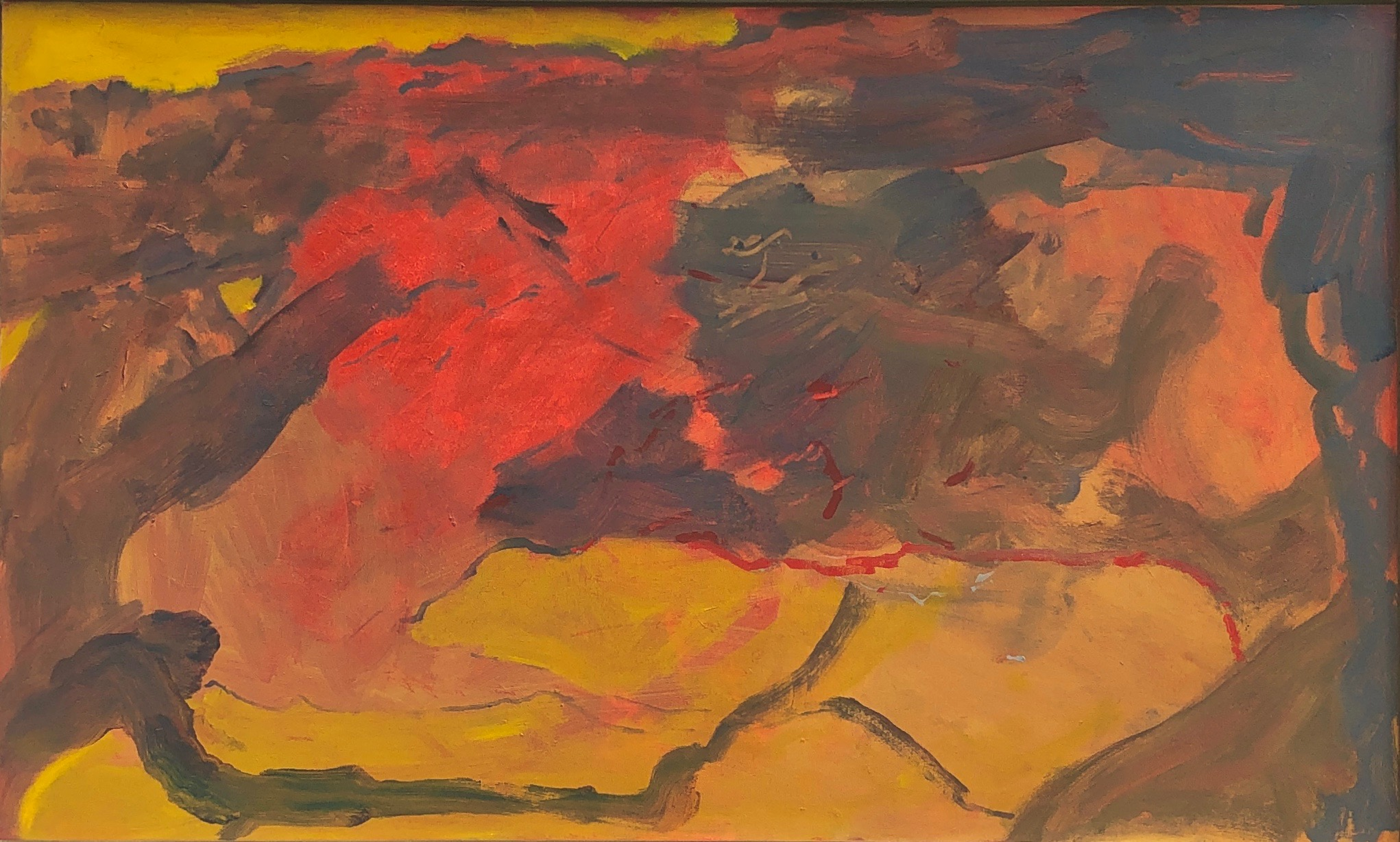 "Landscape Acrylic on Canvas 36"" x 60"""