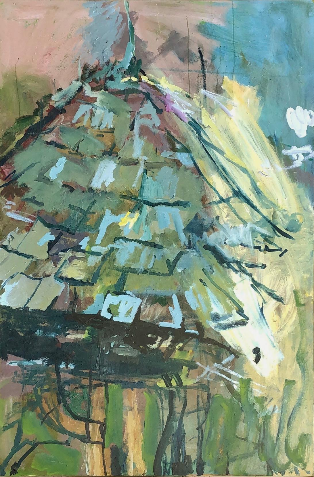 "Gazebo Acrylic on Canvas 72"" x 48"""