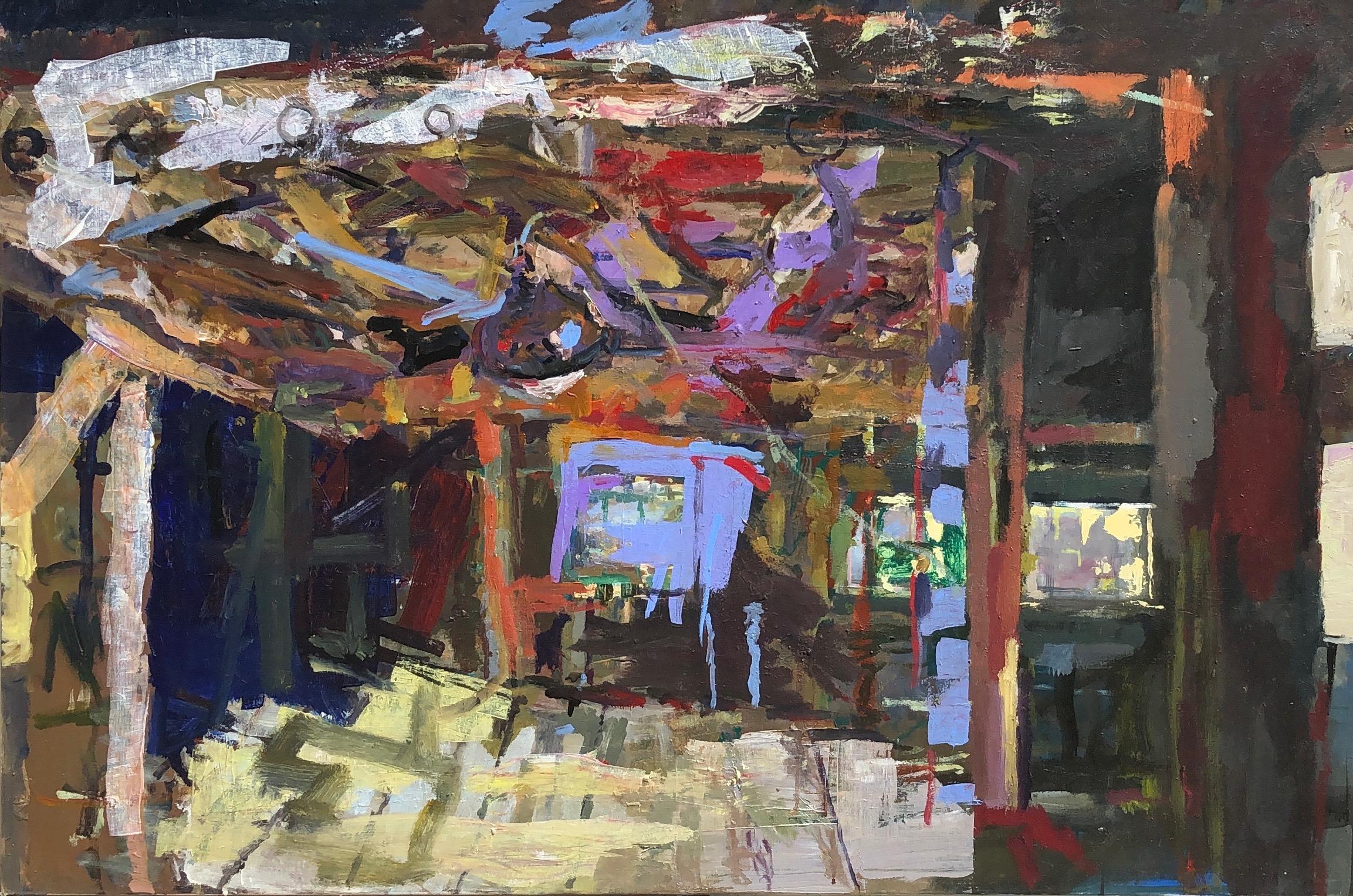 "Transept Acrylic on Canvas 48"" x 72"""