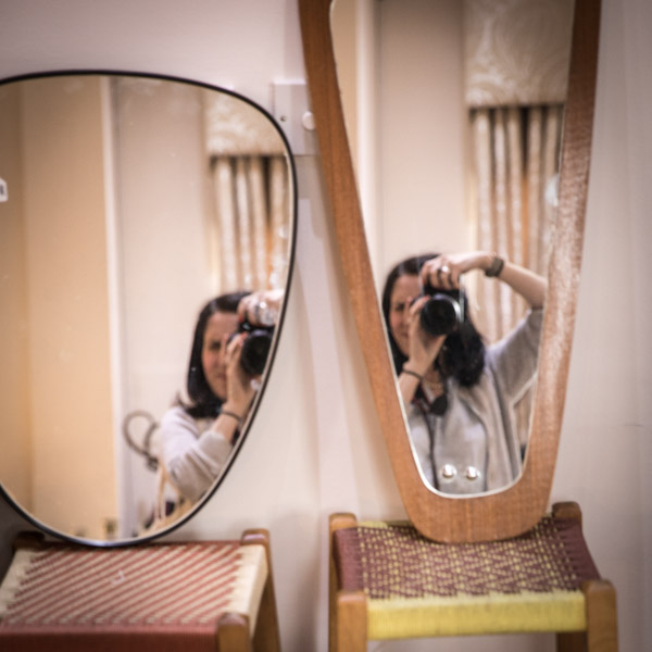 Donna Ford Photography self portrait double exposure reflection