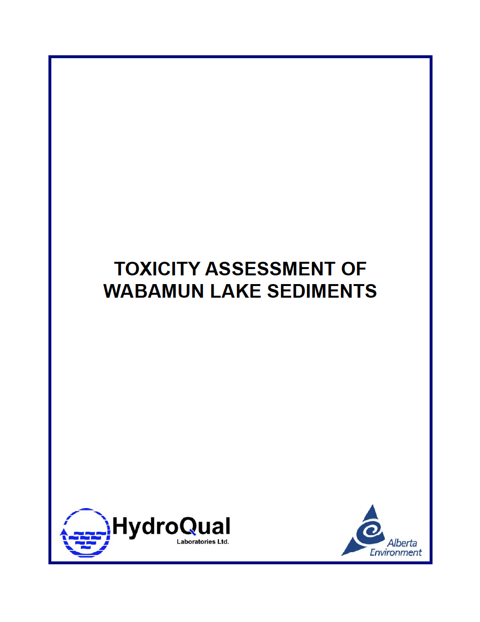 Toxicity Assessment of Wabamun Lake Sediments.png