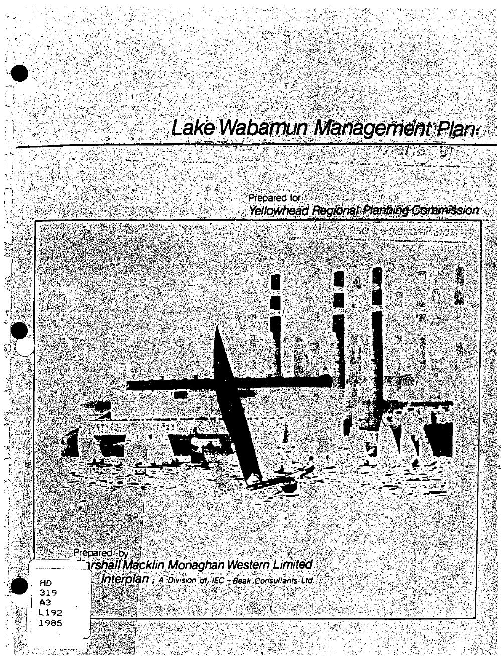 1985 Lake Wabamun Management Plan.png