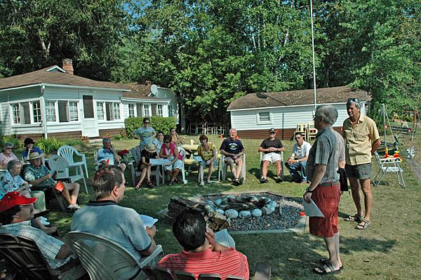 Shoreline Naturalization Workshop, 2009