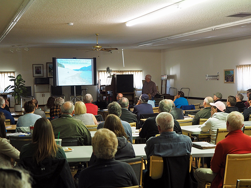 Shoreline Restoration Workshop class in session