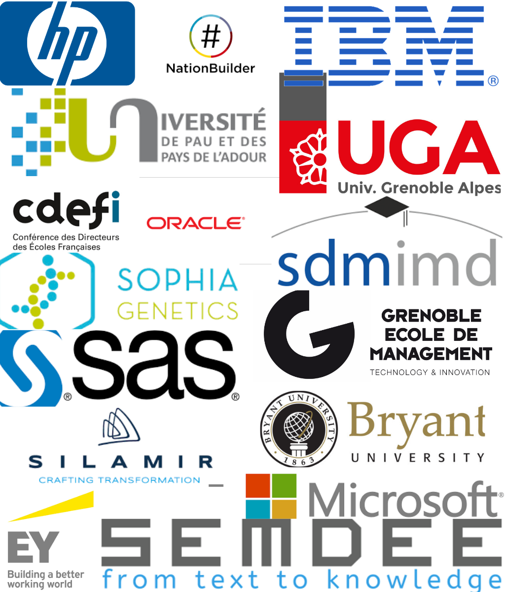 Our Partners - The BAI partners with three types of organizations in the execution of our mission.Business Schools and Universities looking to promote their expertise in business analytics.Private Consultancies that offer trade specific expertise, as well as logistics assistance in the organization of the Institute's events in Europe and Asia.Software Editors that provide software and support in executing our training activities.