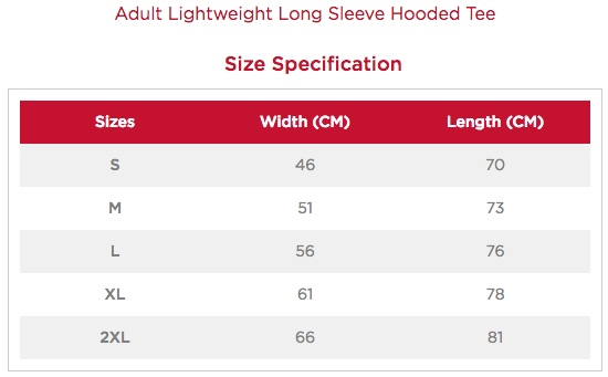 Unisex Long-Sleeved Hooded T-Shirt