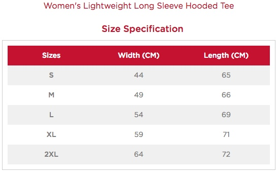Women's Long-Sleeved Hooded T-Shirt