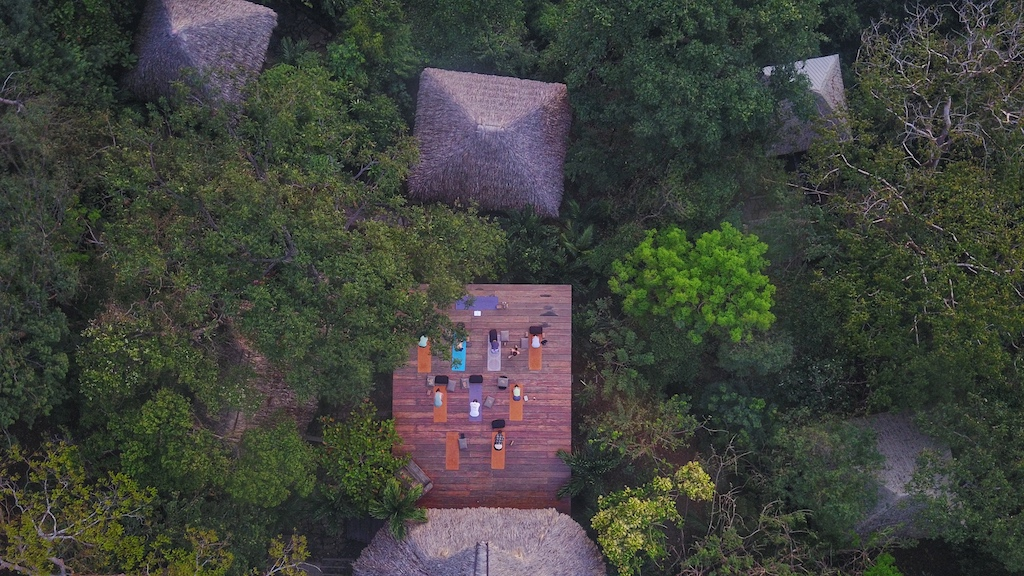 Nicaragua surf yoga camp at Buena Vista Surf Club, Playa Maderas, San Juan del Sur