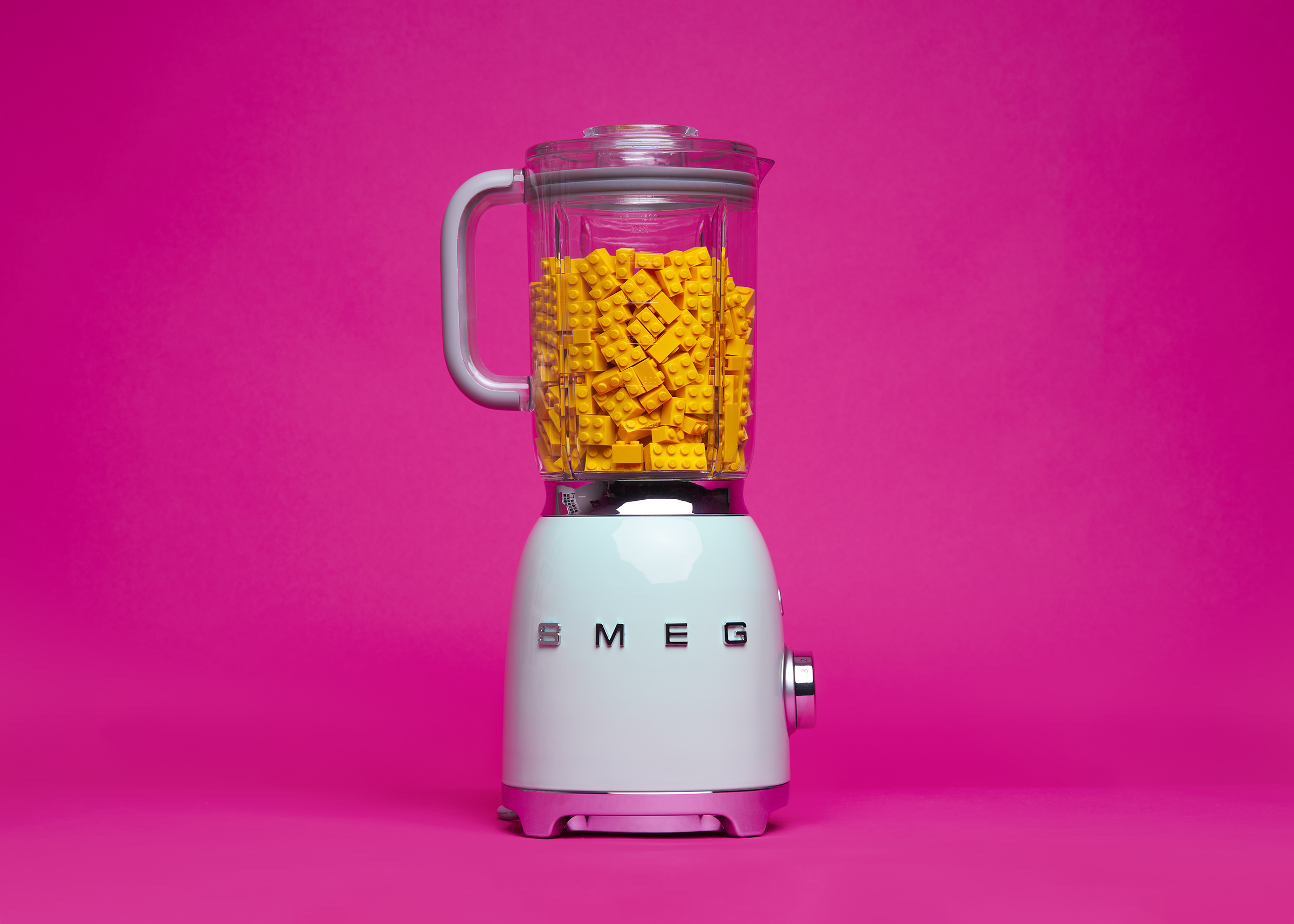 Real Smeg blender with LEGO -