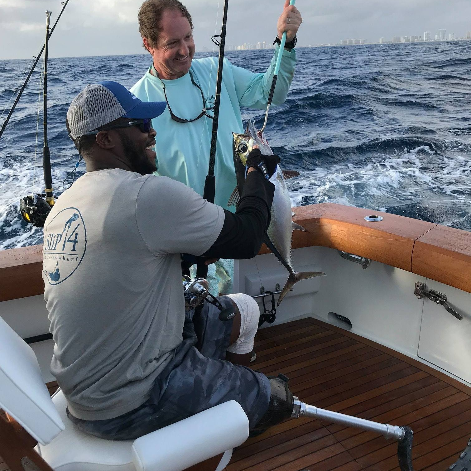 Fishing - It's the first type of event we ever hosted and what we are known for today. Our FFO Fishing Experiences provide the opportunity for Freedom Fighters to spend a day on the water.