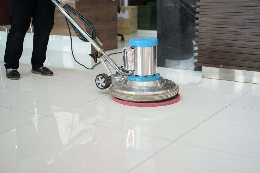 Commercial Floor Cleaning Services — Pacific 1 Flooring Care & Installation  — Carpet Cleaning, Hardwood Floor Installation, Water Removal