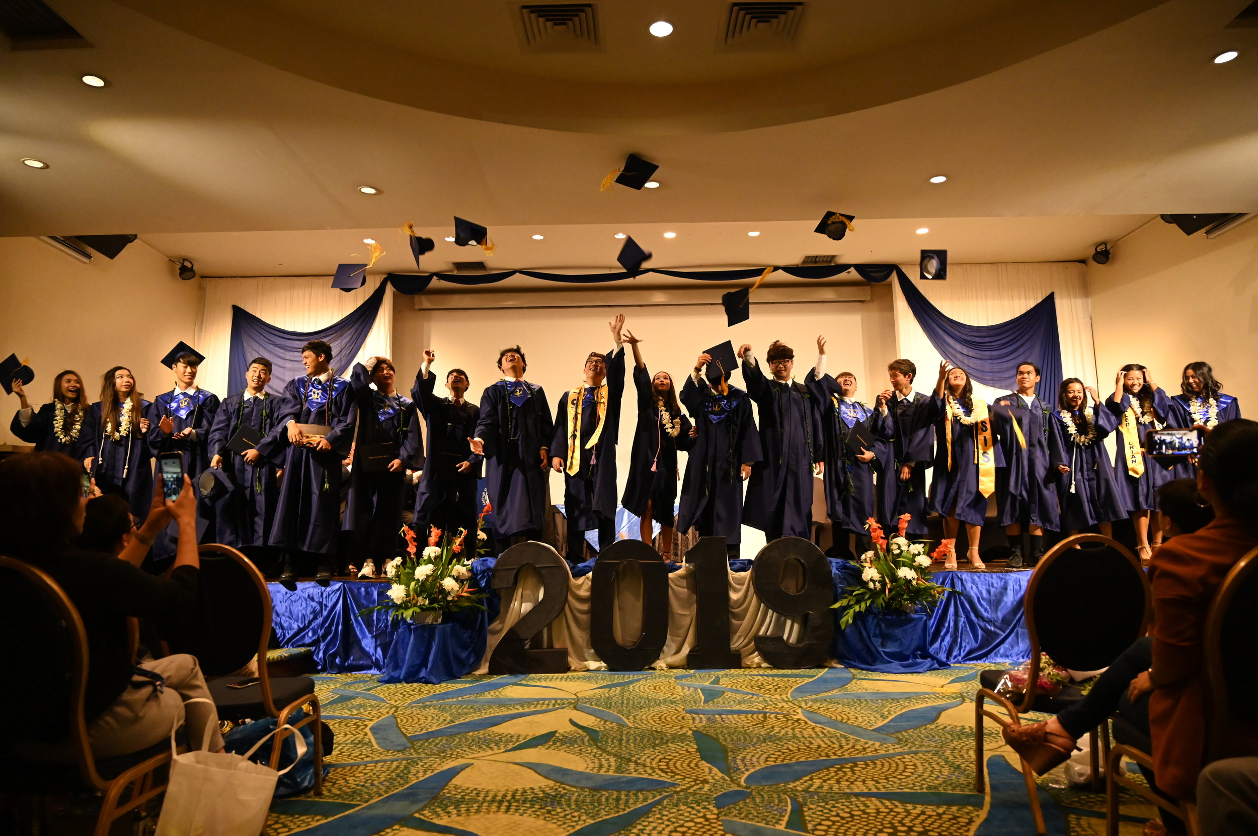 Graduation night. Photo by Michael Ngo