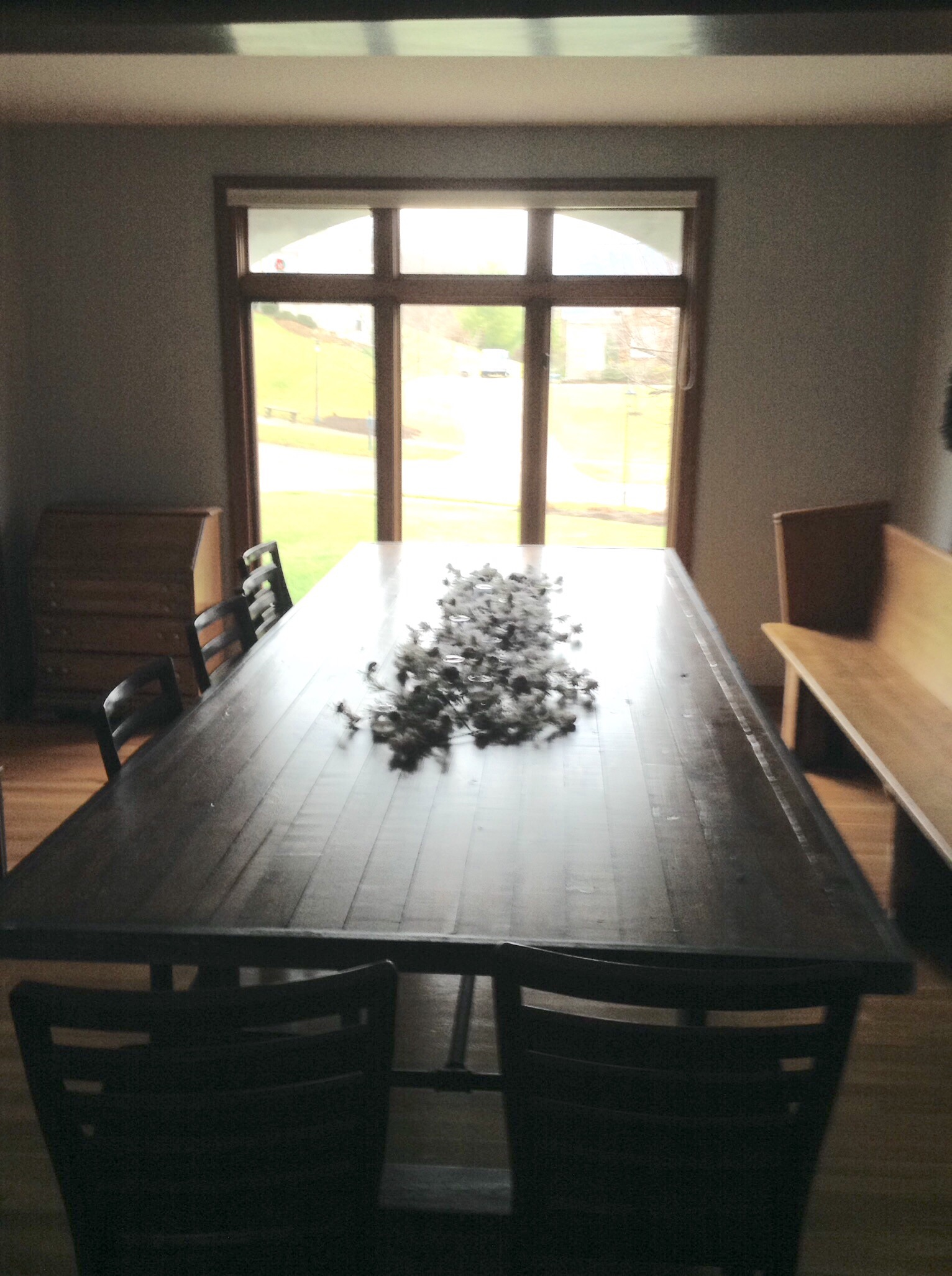 Mega Dining Room Table- up to 54″ wide, this one seats 14, $200/ft