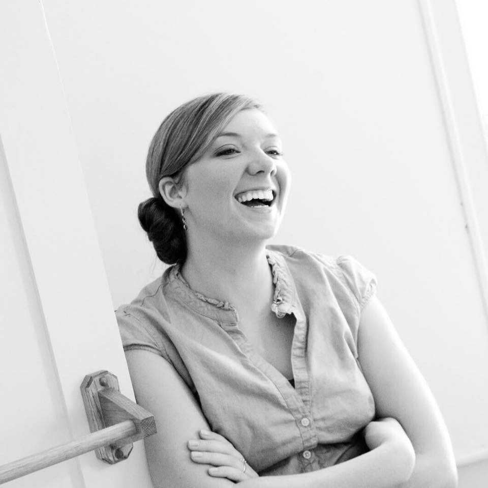 """- """"I learned the most from doing. Write. Edit. Post. Repeat.""""-Katie Parker, thecreativekp.com"""