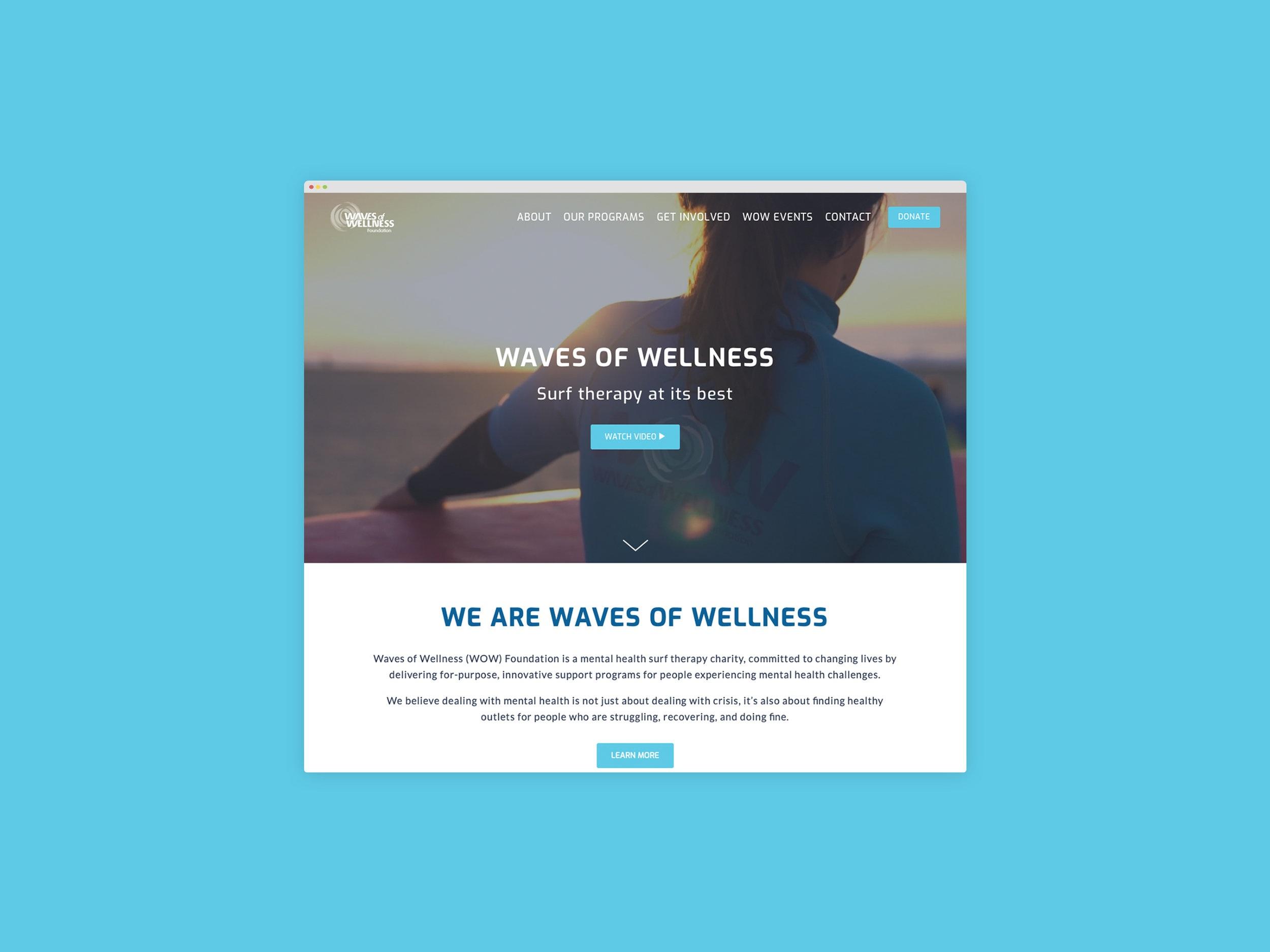 Foundation WOW - Responsive Website