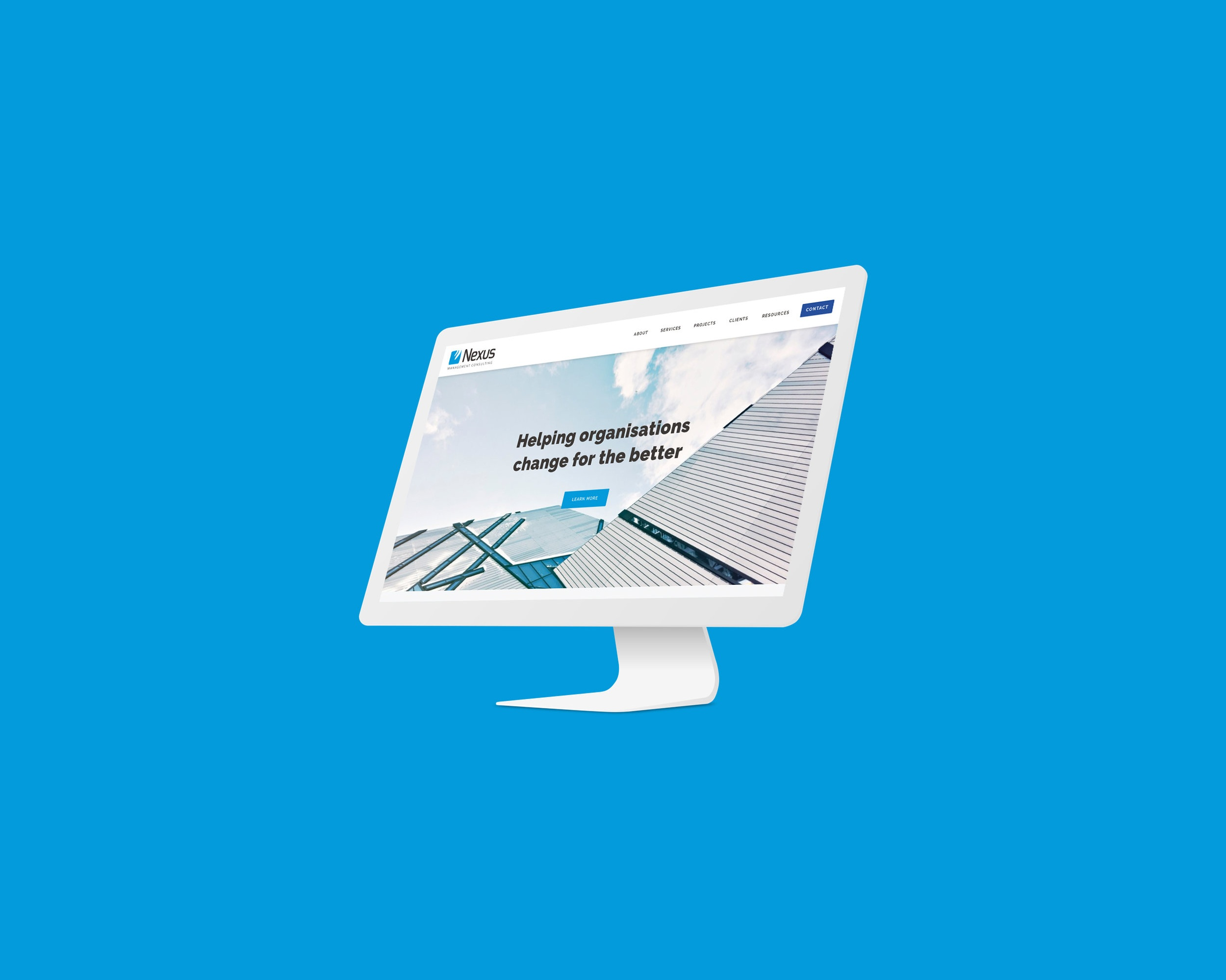 Nexus Management Consulting - Responsive Website