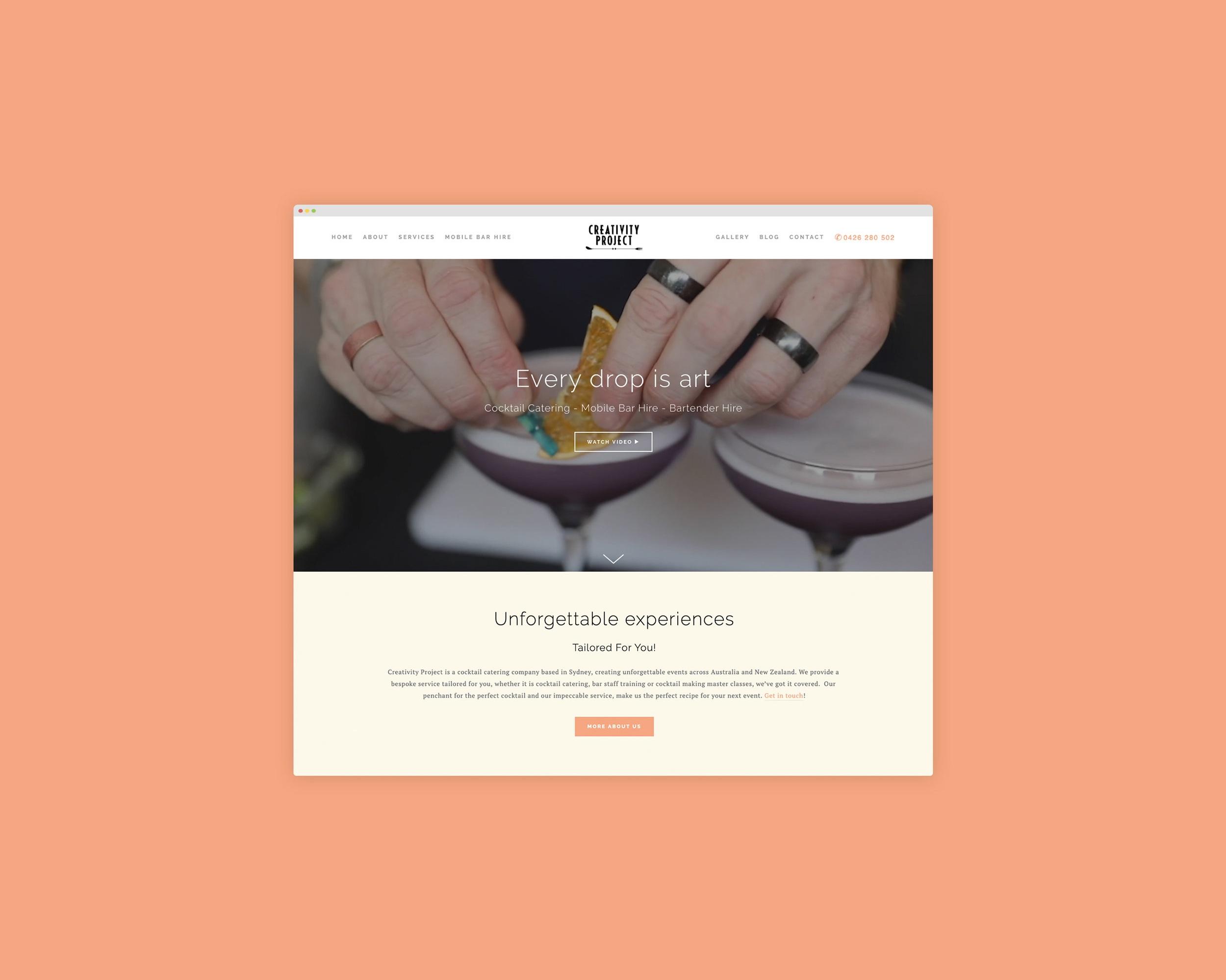 Creativity Project - Responsive Website / Digital Marketing / SEO Services