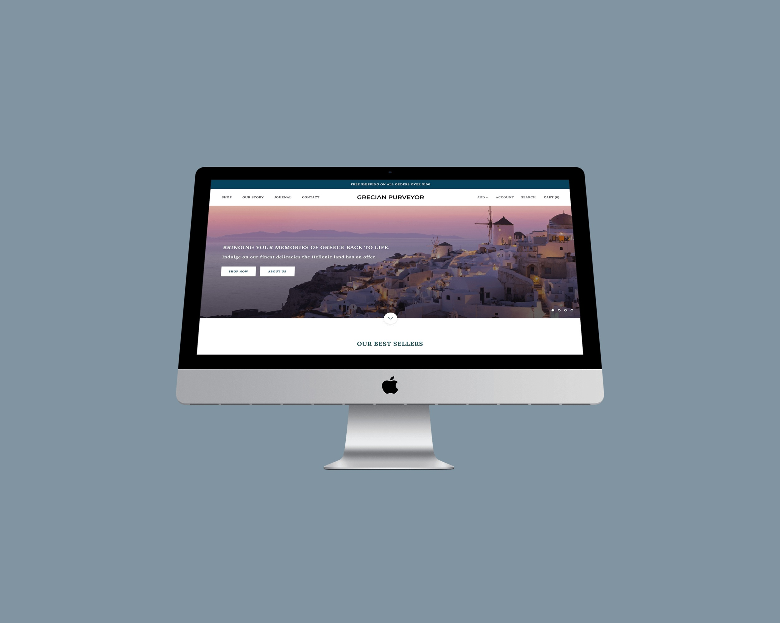 Grecian Purveyor - e-Commerce Website / Digital Marketing / SEO Services