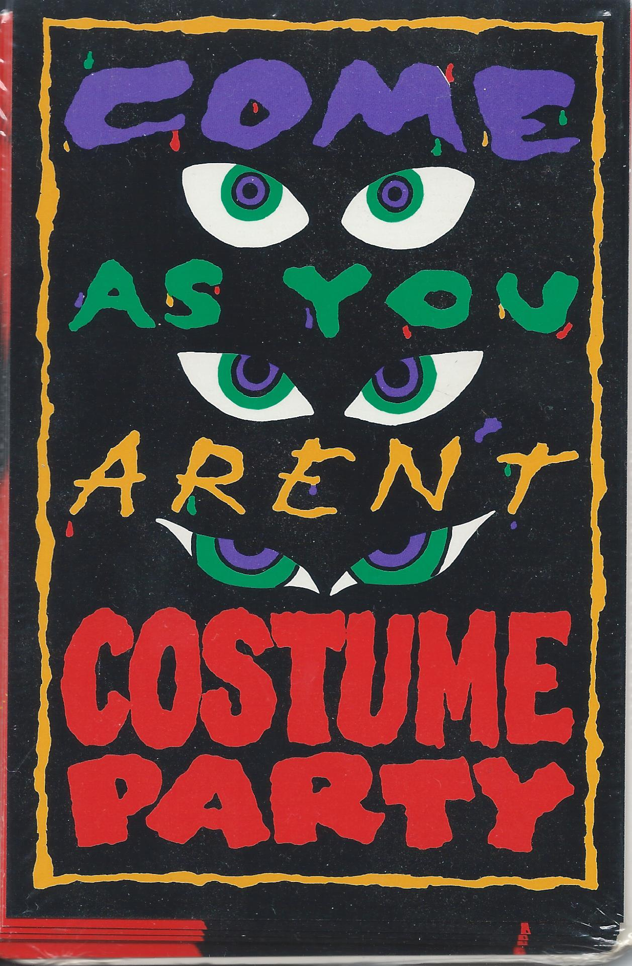 Come as you aren't costume party