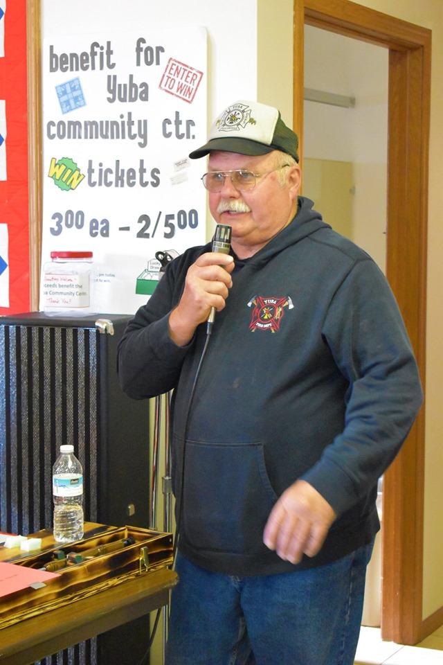 Yuba Mayor and Fire Chief Jim Huffman keeps things running smooth.