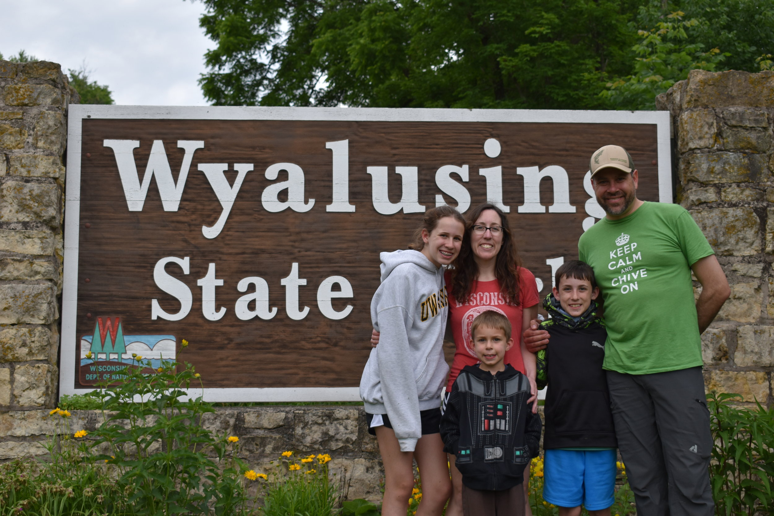 Wyalusing State Park Fox Family.JPG