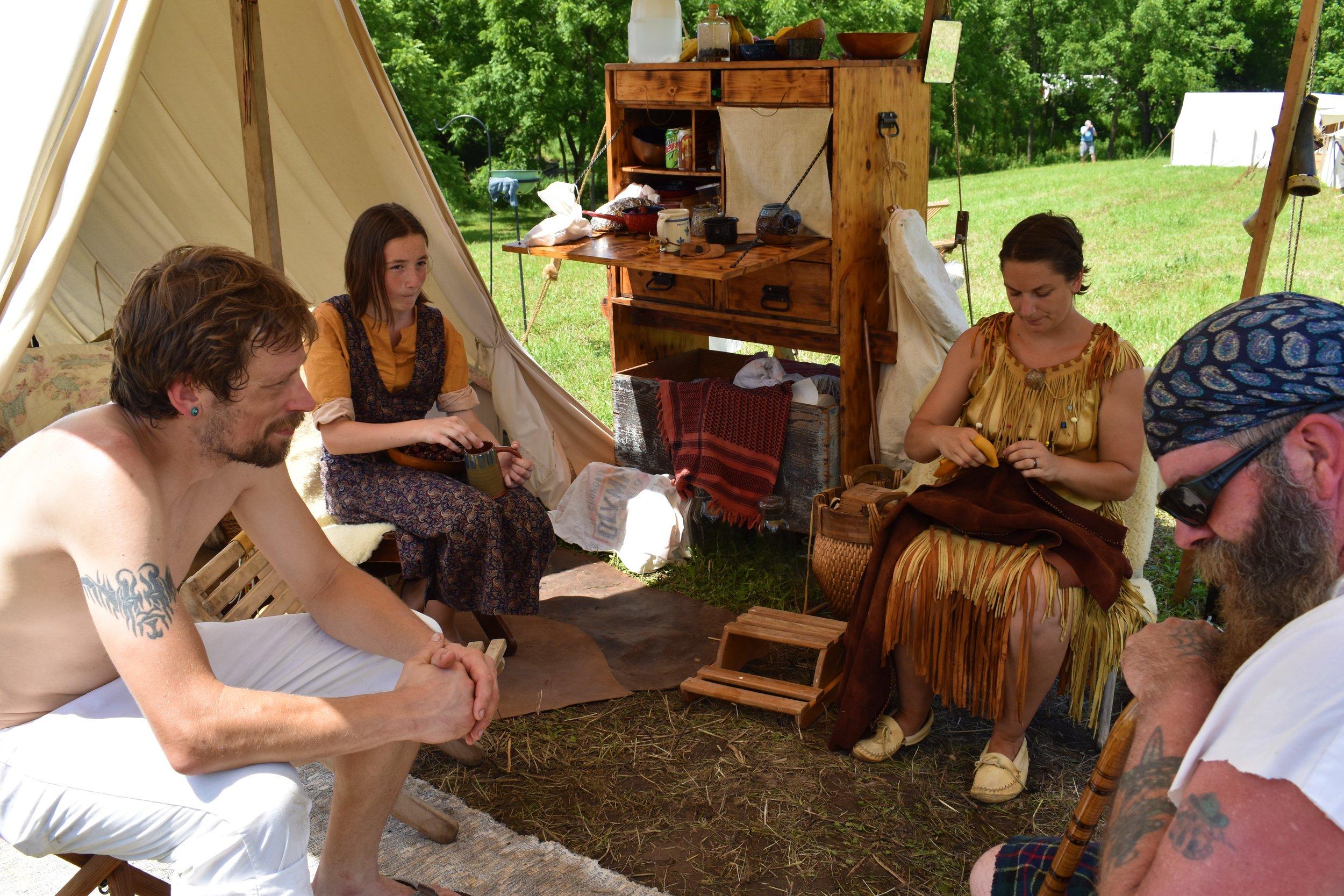 Pictured L-R - Brant Engfer, Haylee Vejoda, Jennifer Hund, and - Pat O'Brien