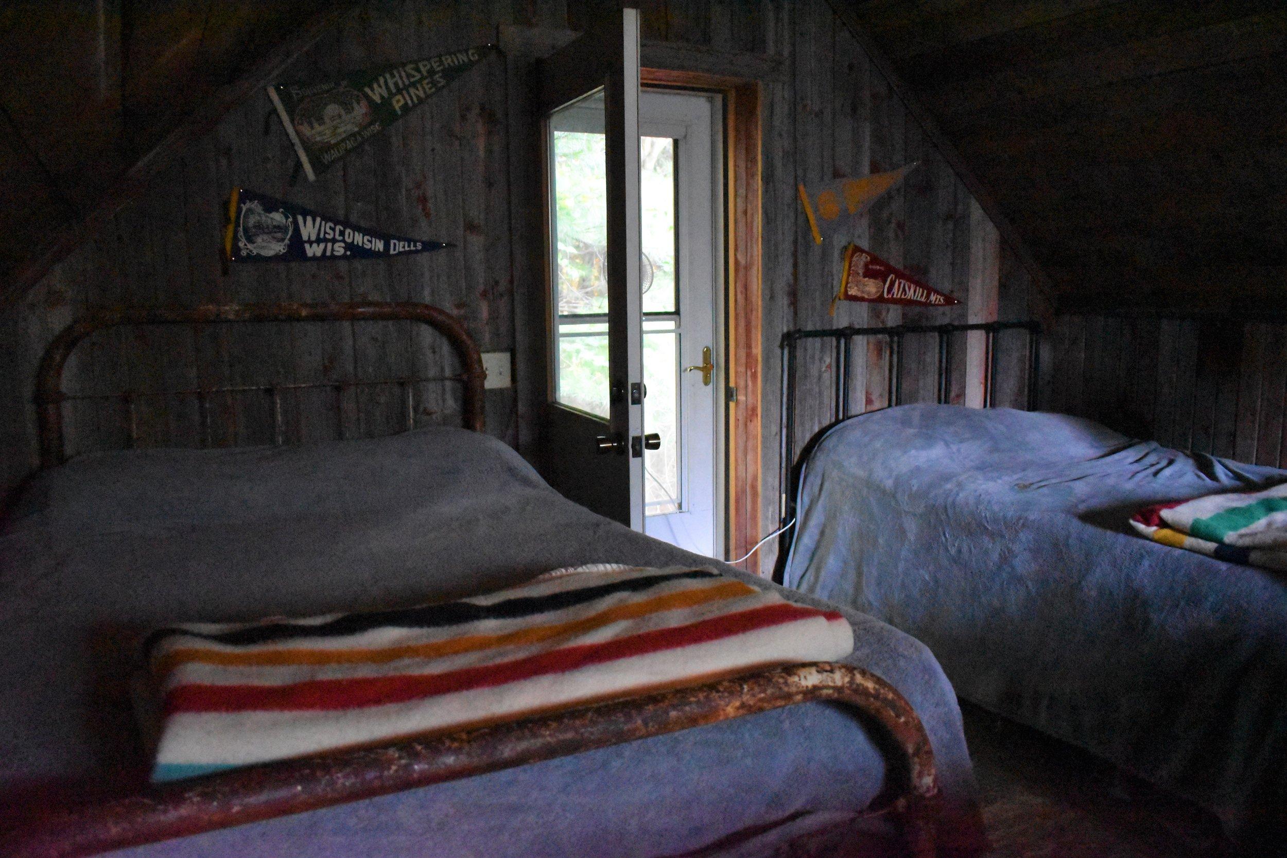 The cabin loft