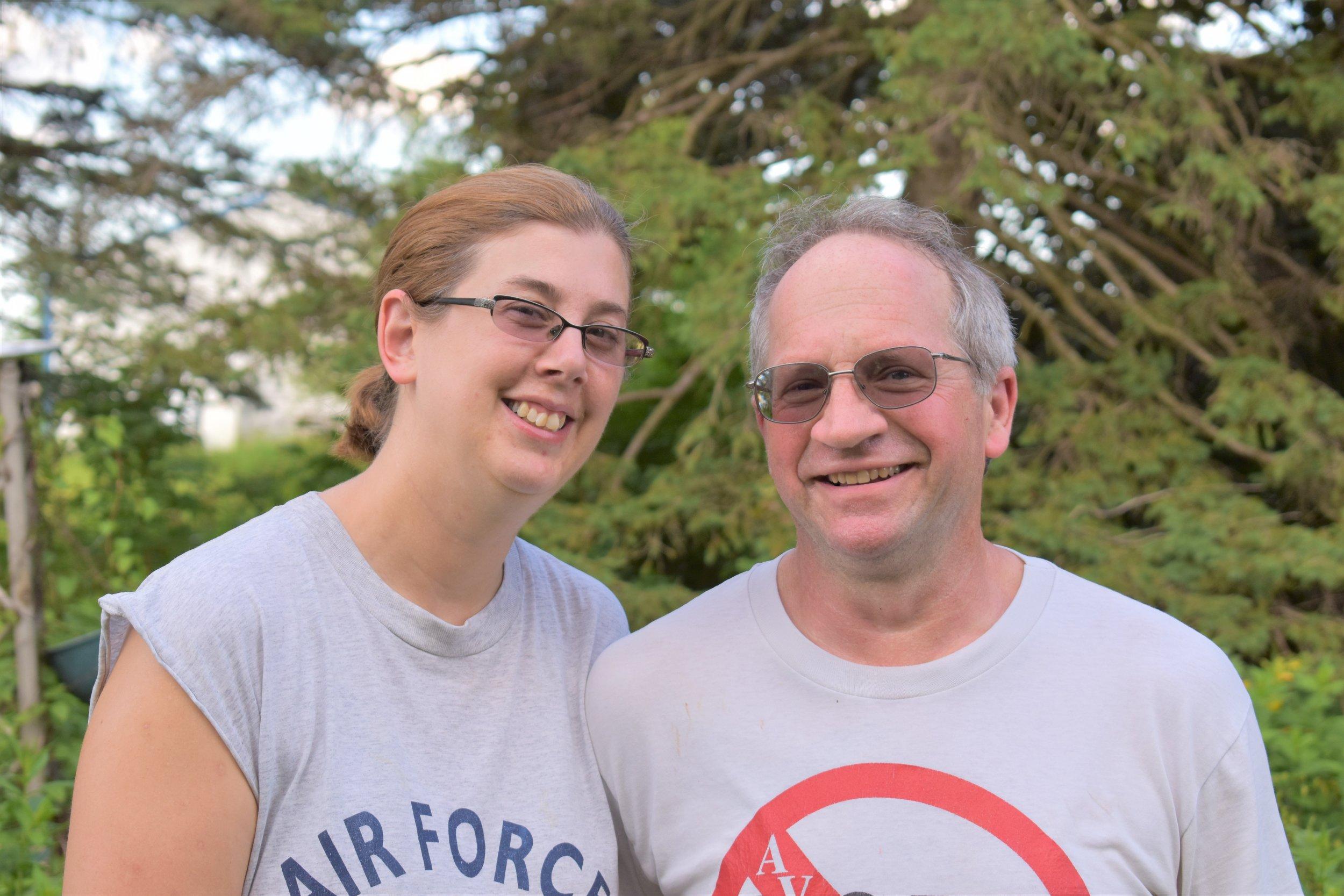 Amy and Rick Sebranek