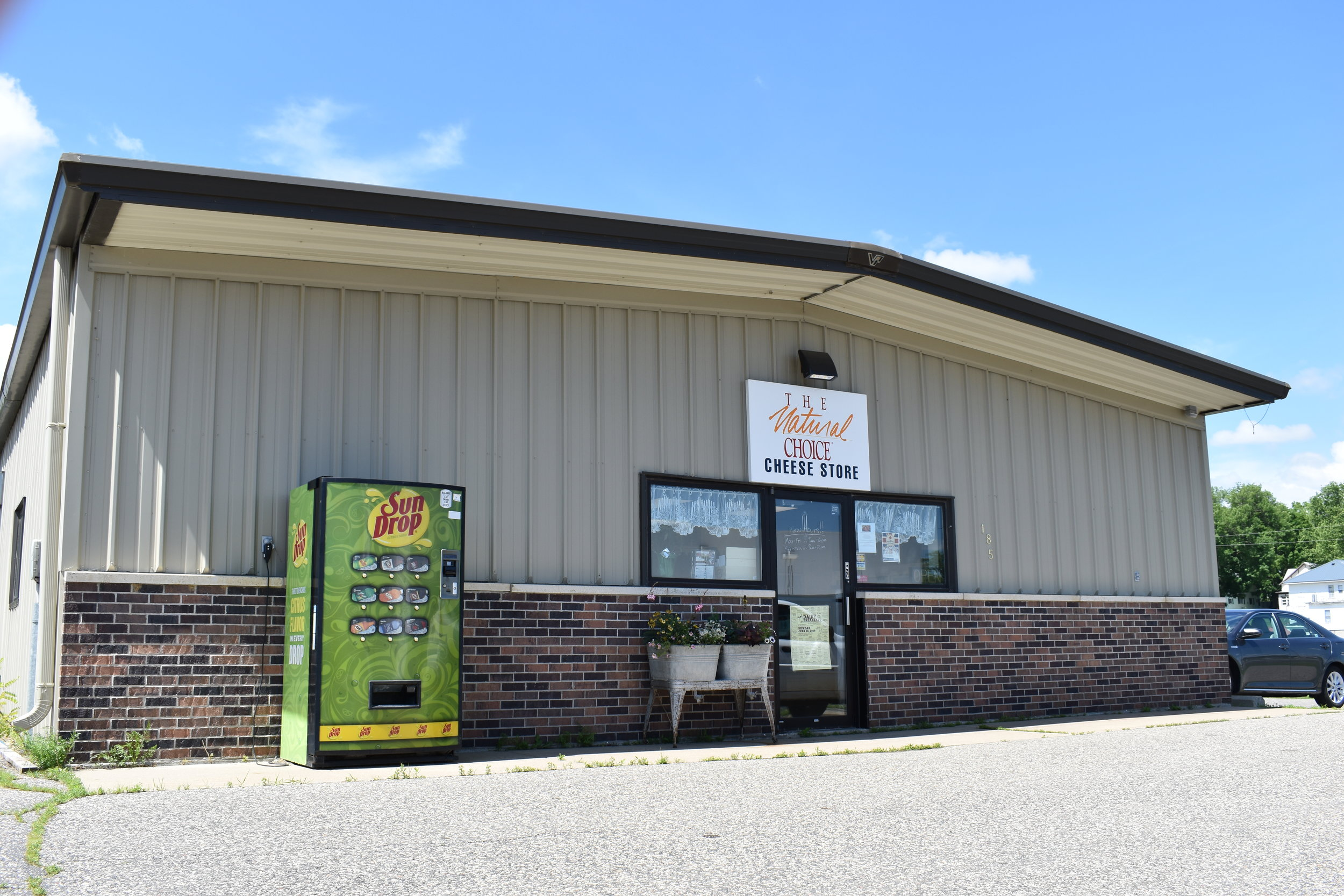 The Cheese Store and More located at 185 Madison St. in Hillsboro, Wisconsin
