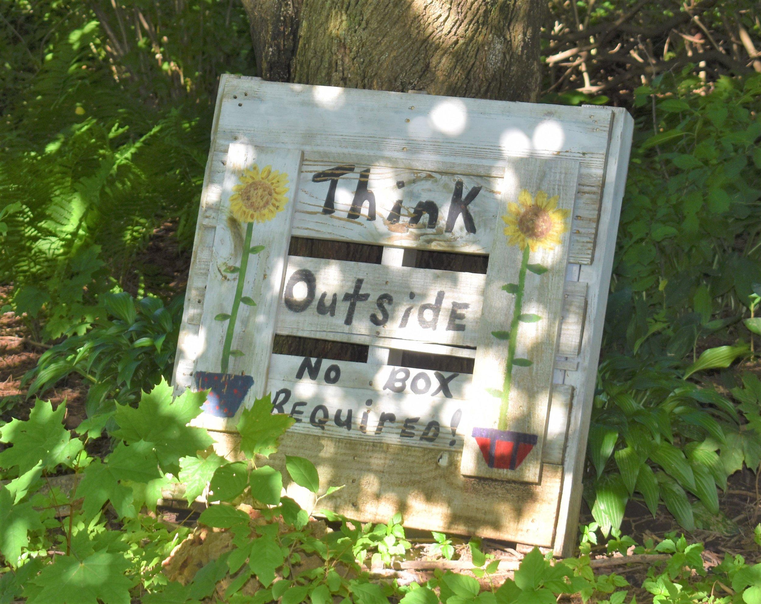 Maybe an unofficial motto at the Sebranek Farm?