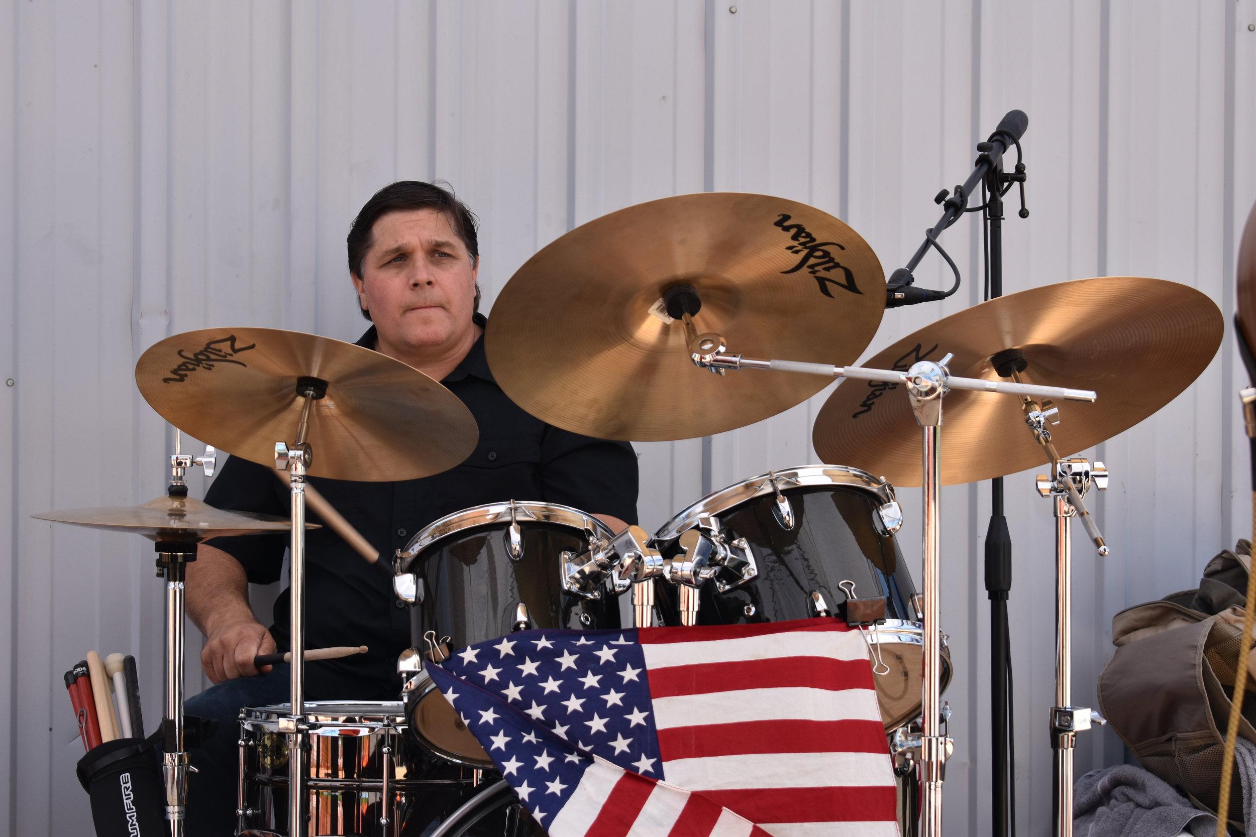 And of course their drummer, Joe Sukana