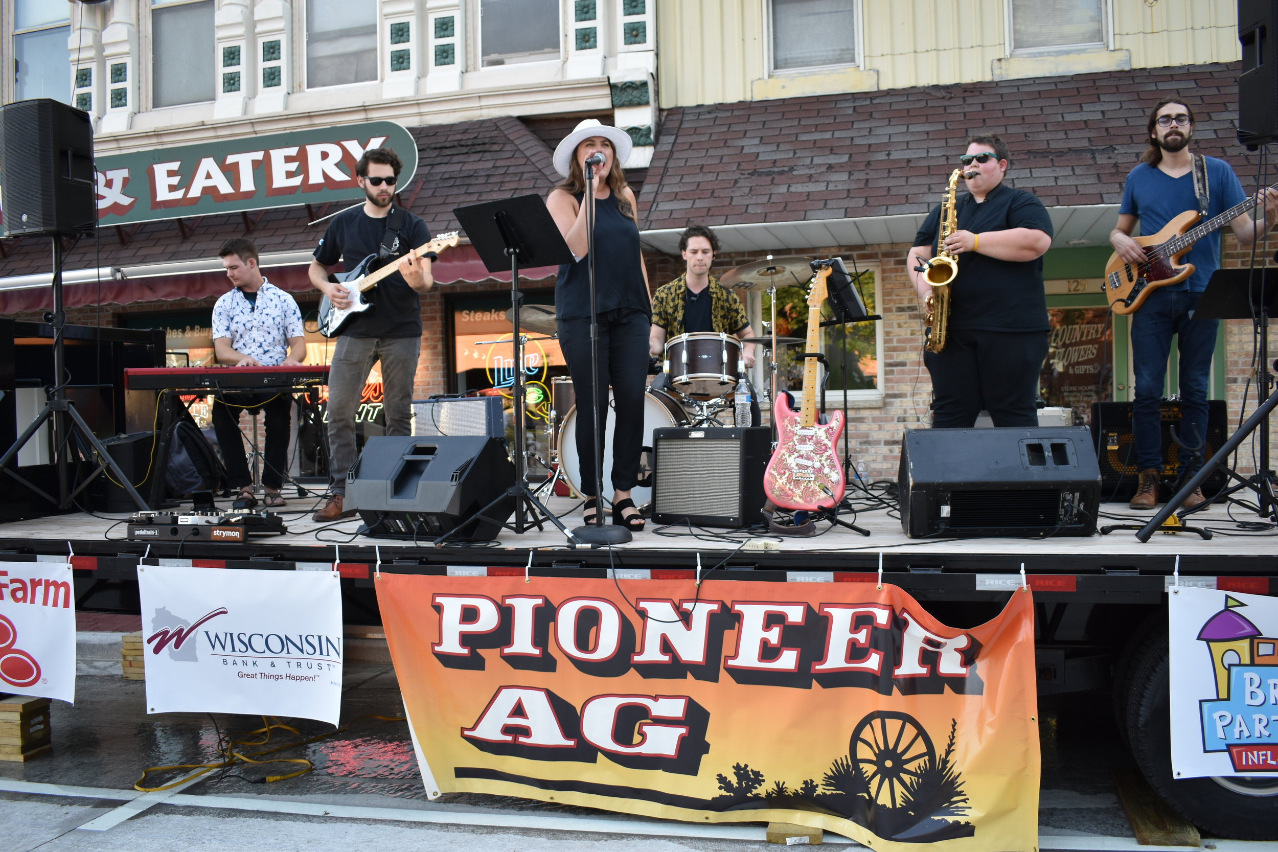 Lancaster native and Nashville recording artist, Beth White and her band