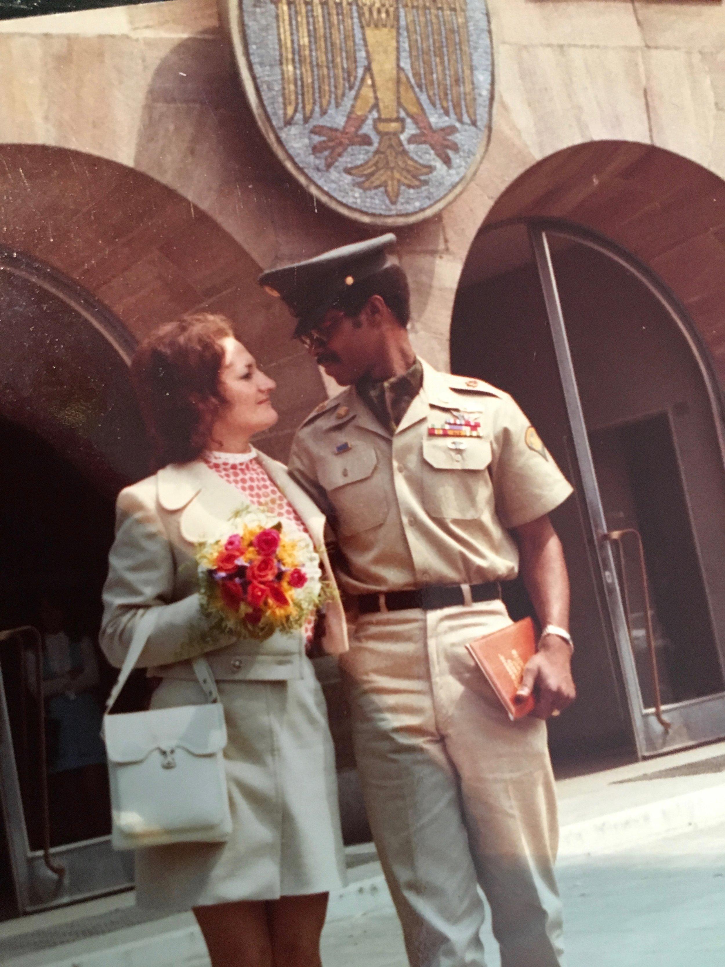 Erika and Dwight Johnson's wedding