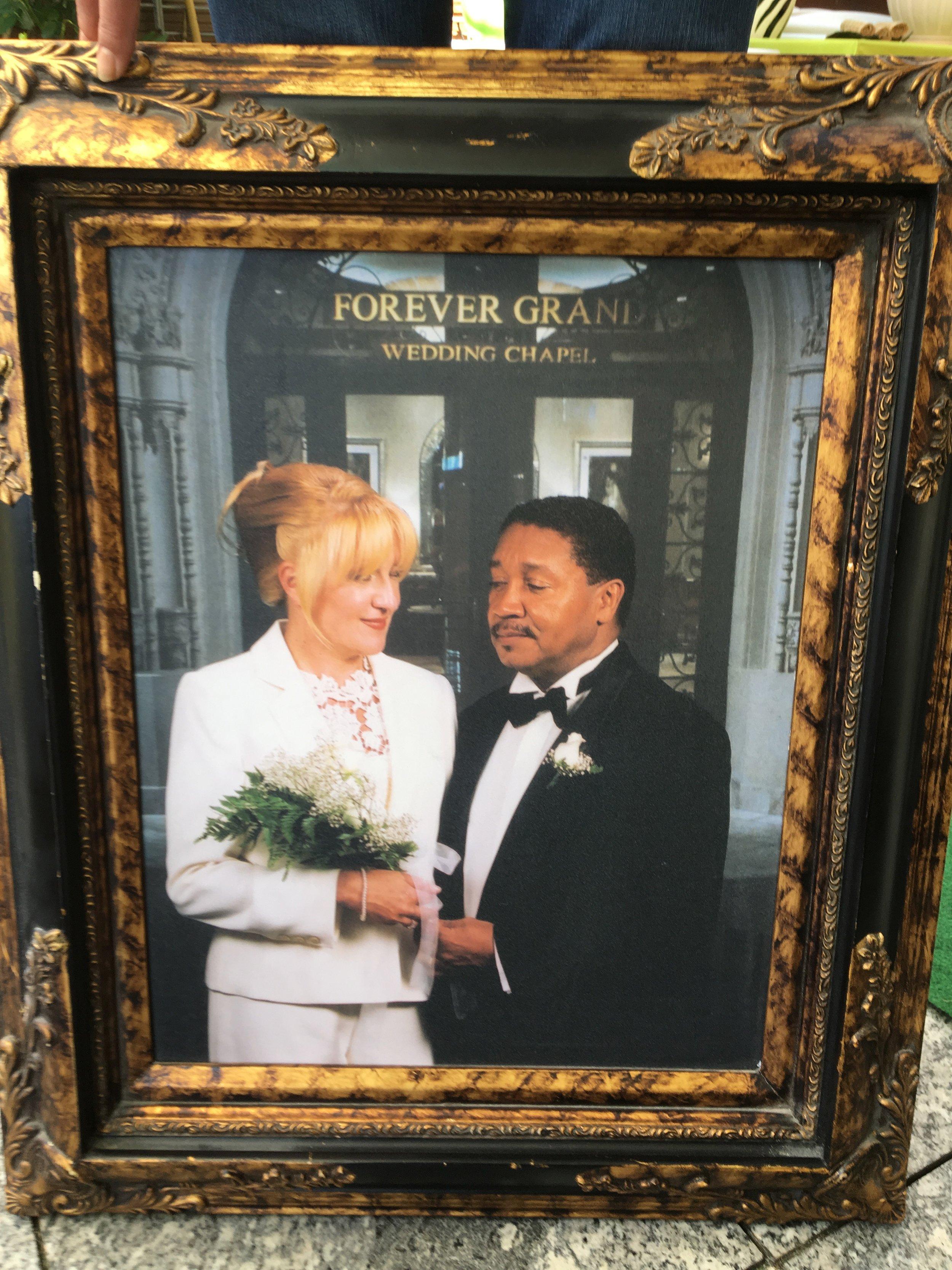 Fred and Inga Rivera's wedding