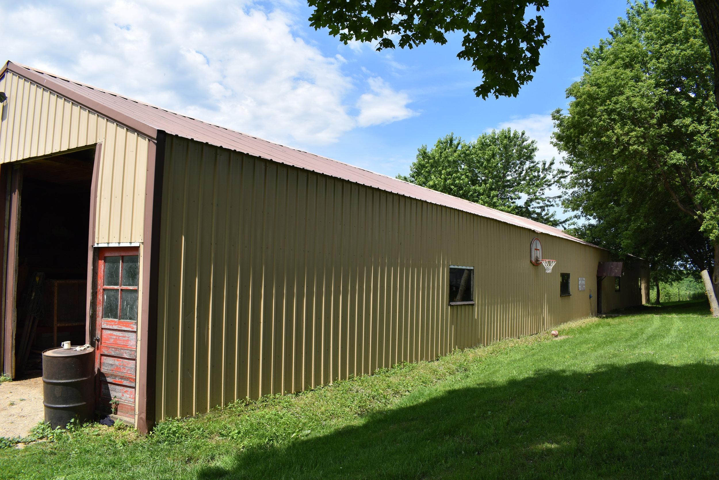Old barracks building from Ft. McCoy