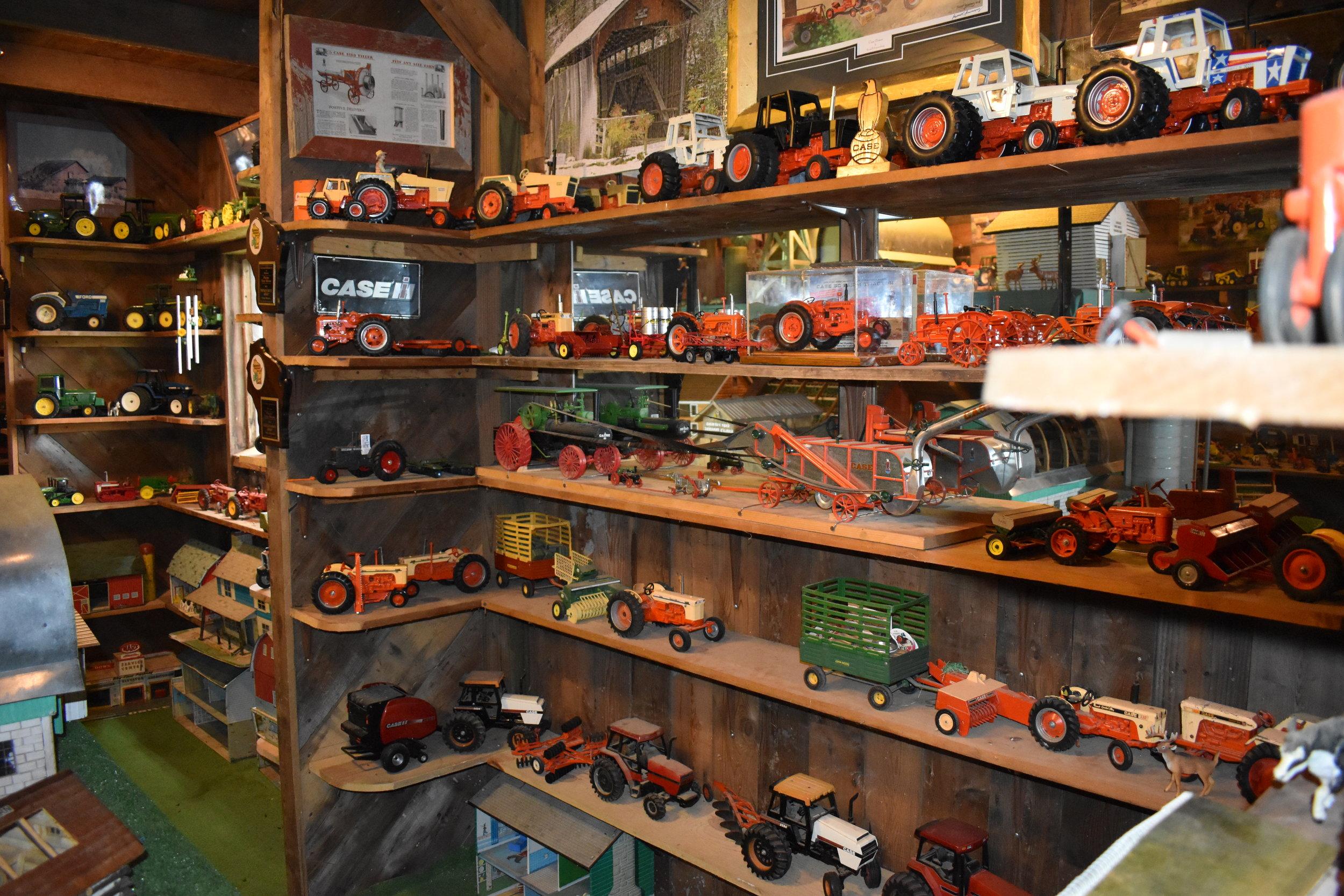 Admundson's favorite collection of Case tractors
