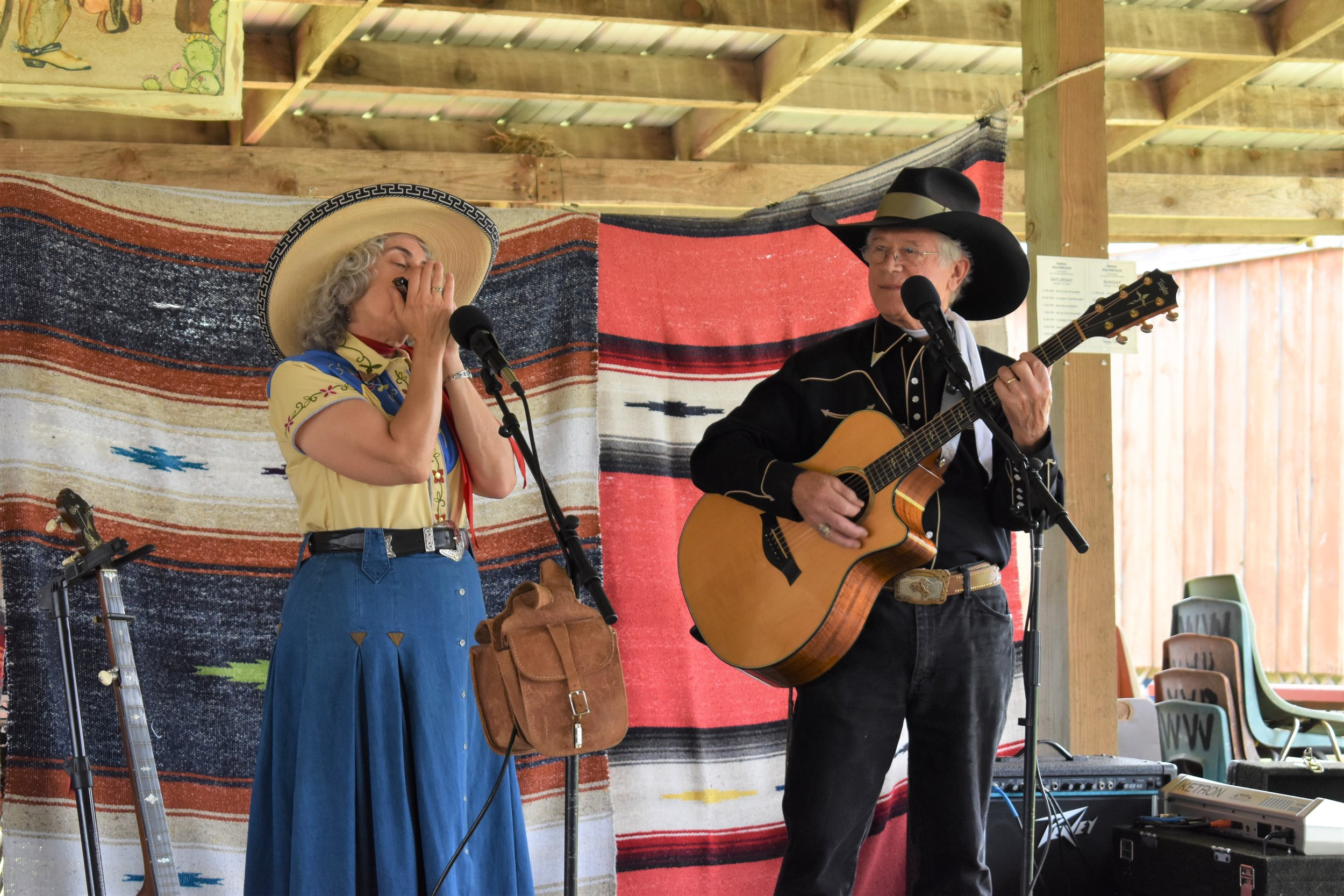 KG & The Ranger performing Saturday afternoon