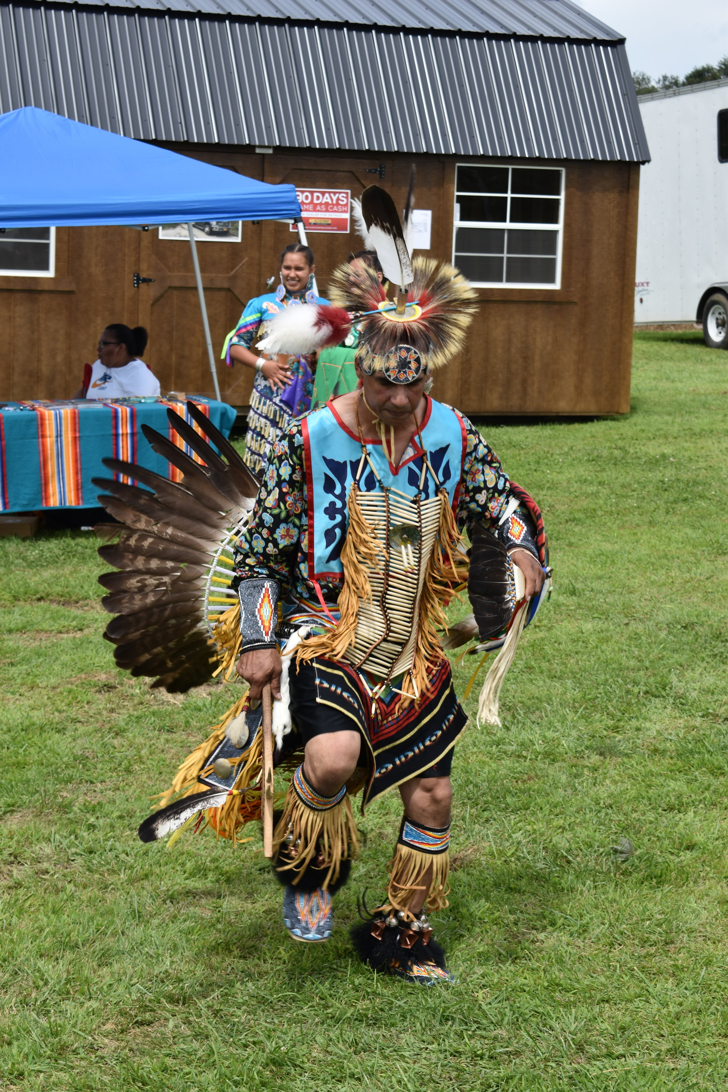 Northern Traditional Dancer Justice Green