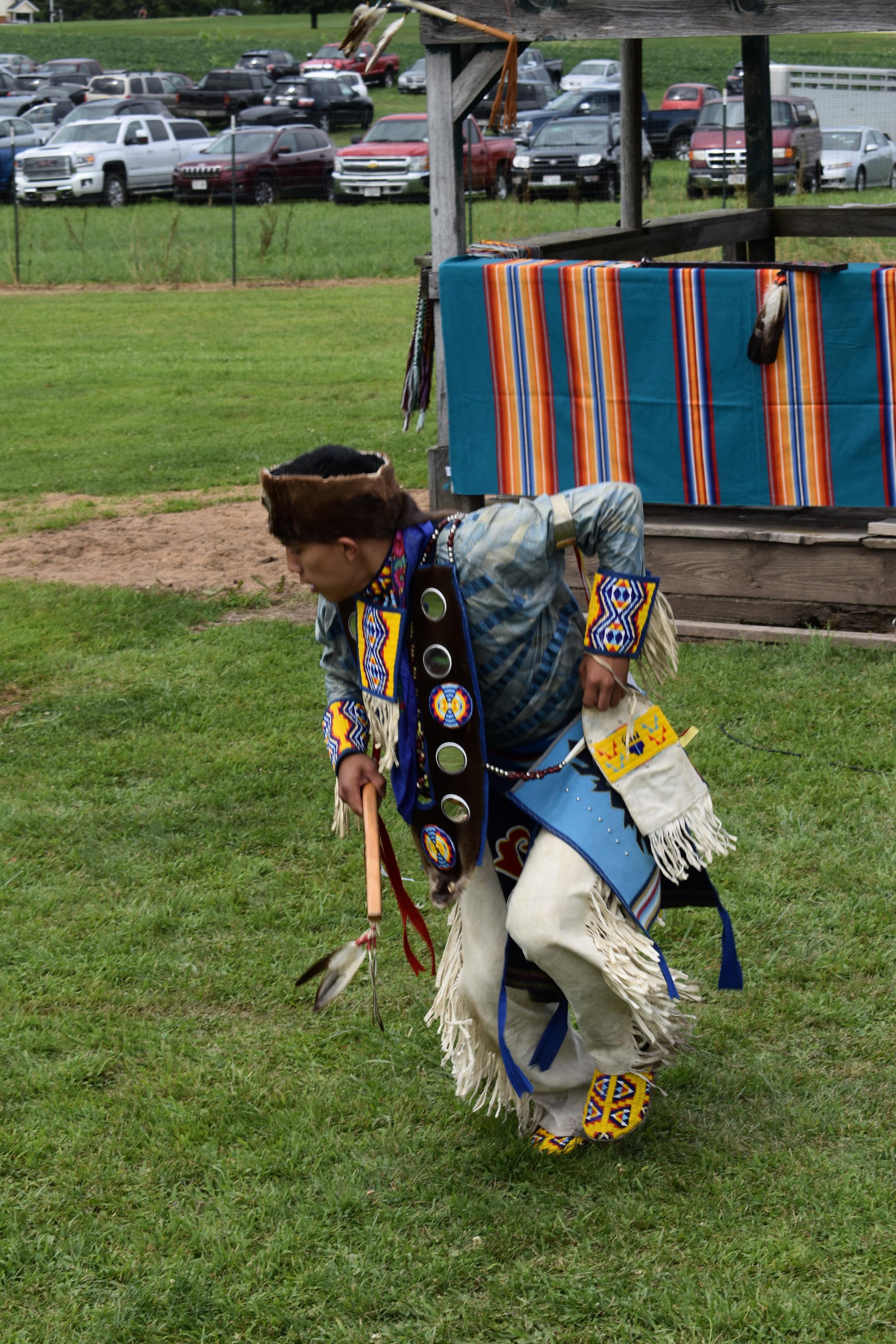 Woodlands Traditional Dancer Bryson Funmaker