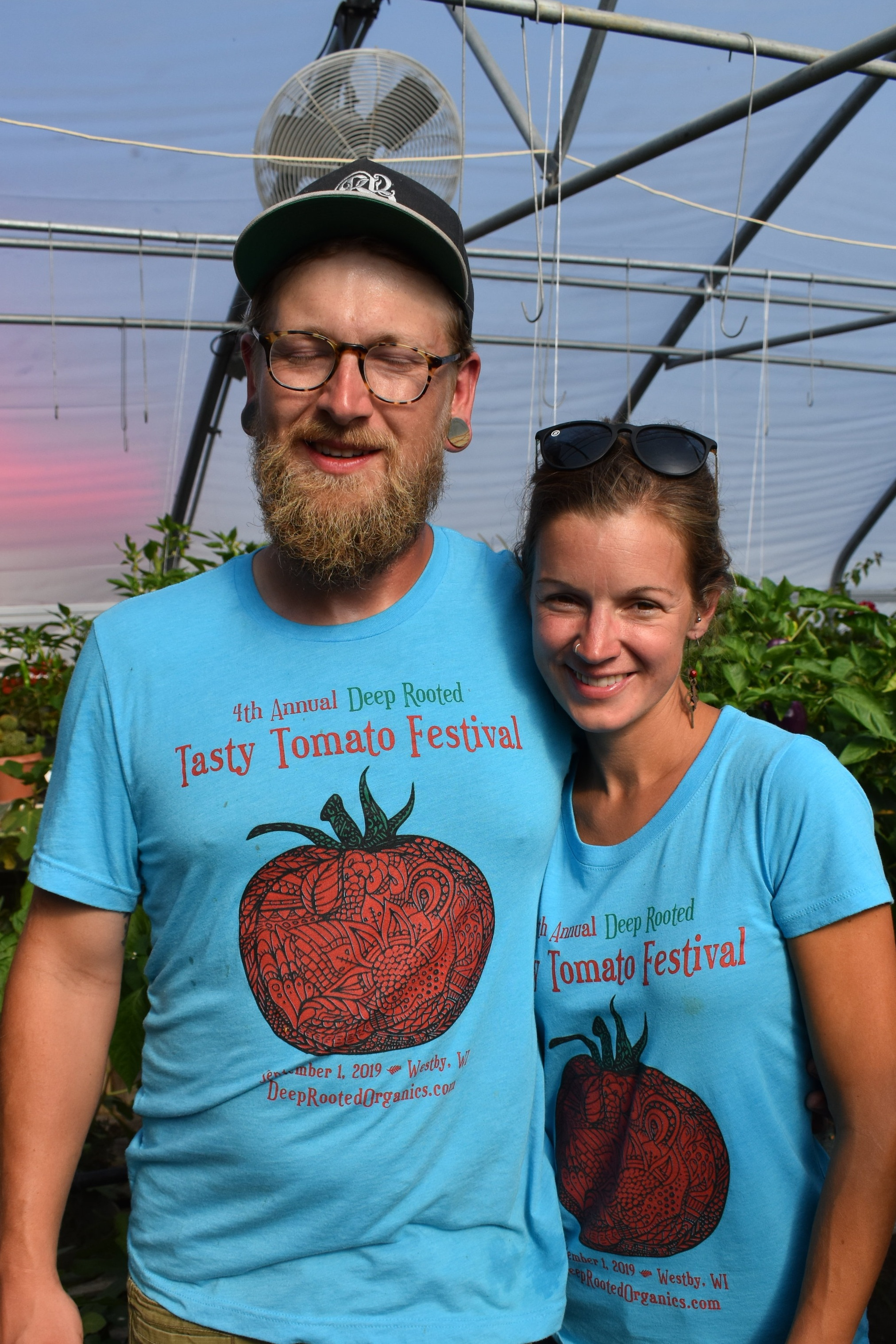 Owners of Deep Rooted Jimmy Fackert and Tiffany Cade